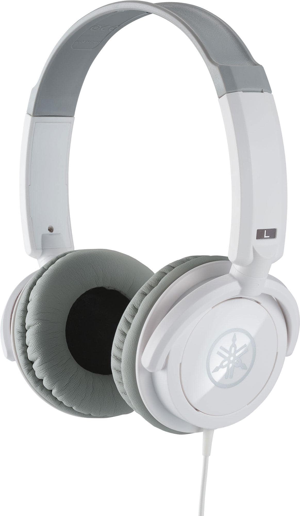 Kopfhoerer - Yamaha HPH 100WH Kopfhörer weiß - Onlineshop Musikhaus Kirstein