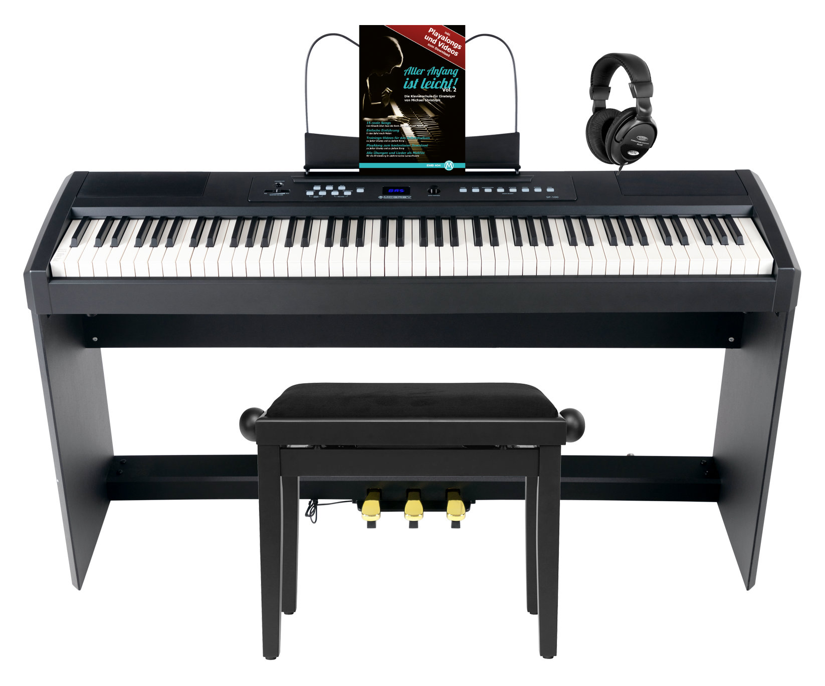 Stagepianos - McGrey SP 100 Stagepiano Home Set - Onlineshop Musikhaus Kirstein