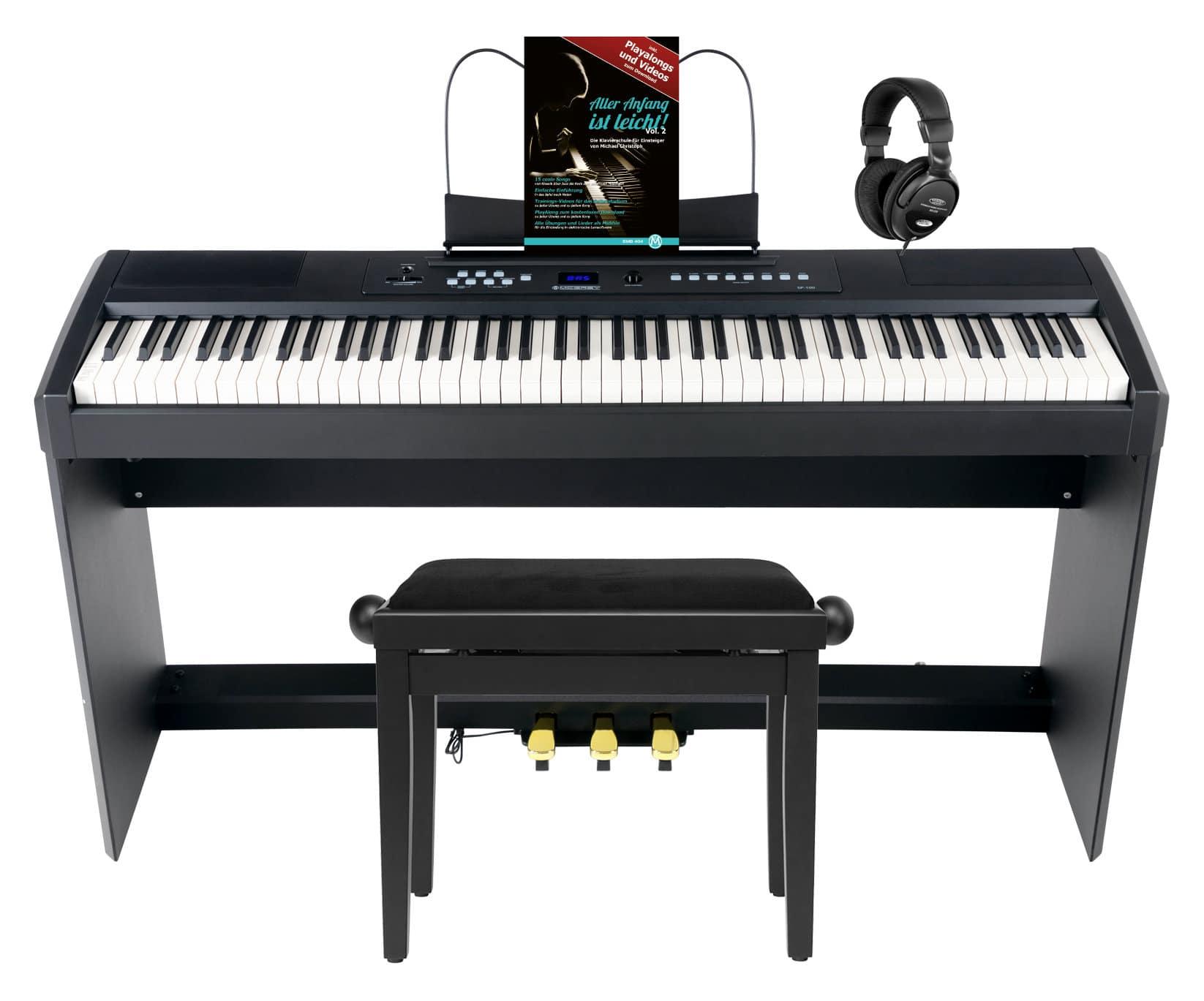 Stagepianos - McGrey SP 100 Stagepiano Home Set - Onlineshop Musikhaus Kirstein