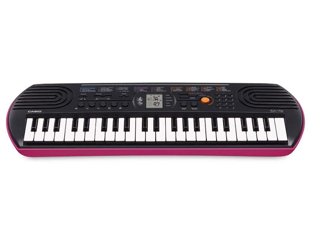 Casio SA 78 Mini Keyboard, 44 Tasten