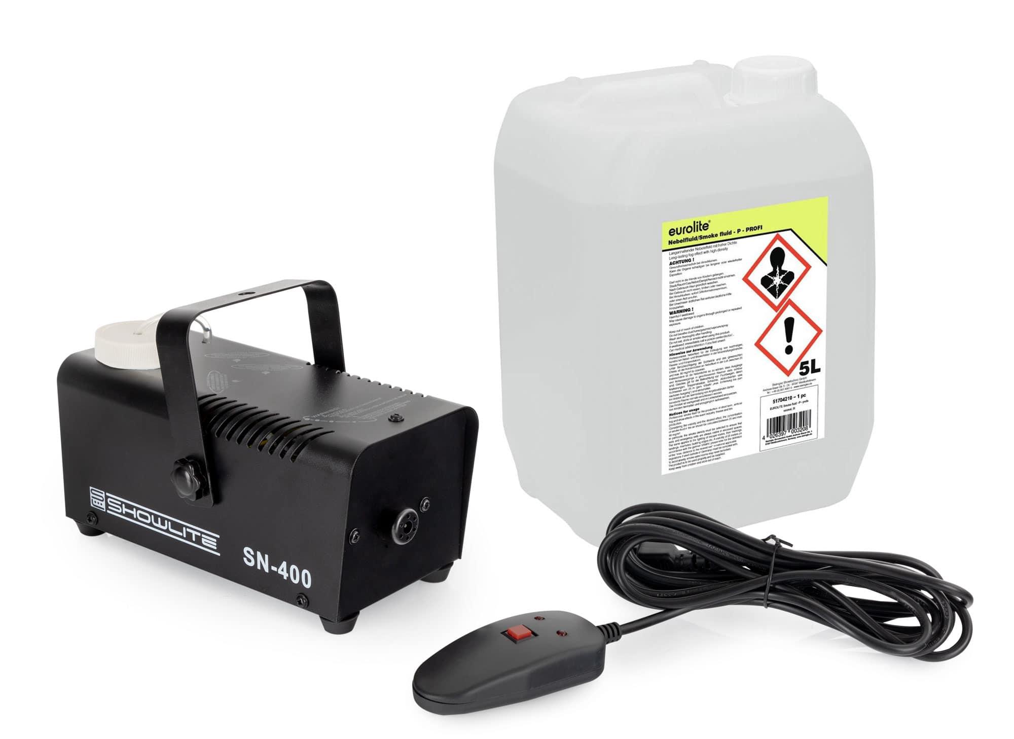 Showlite SN 400 Nebelmaschine 5L Fluid Set