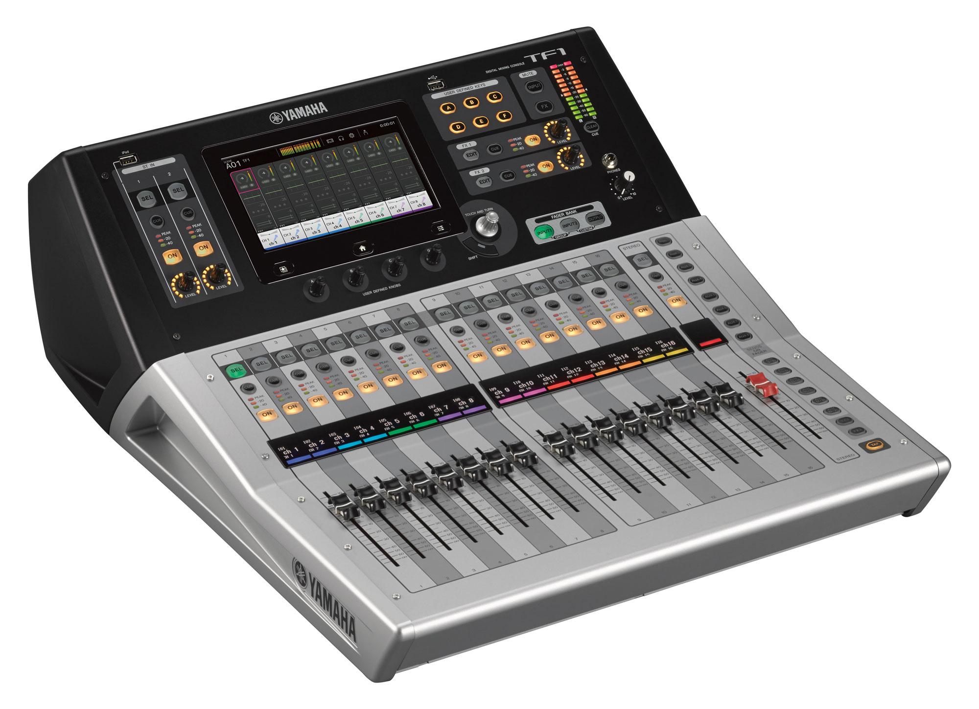 Mikrofone - Yamaha TF 1 Digitalmixer Aussteller - Onlineshop Musikhaus Kirstein