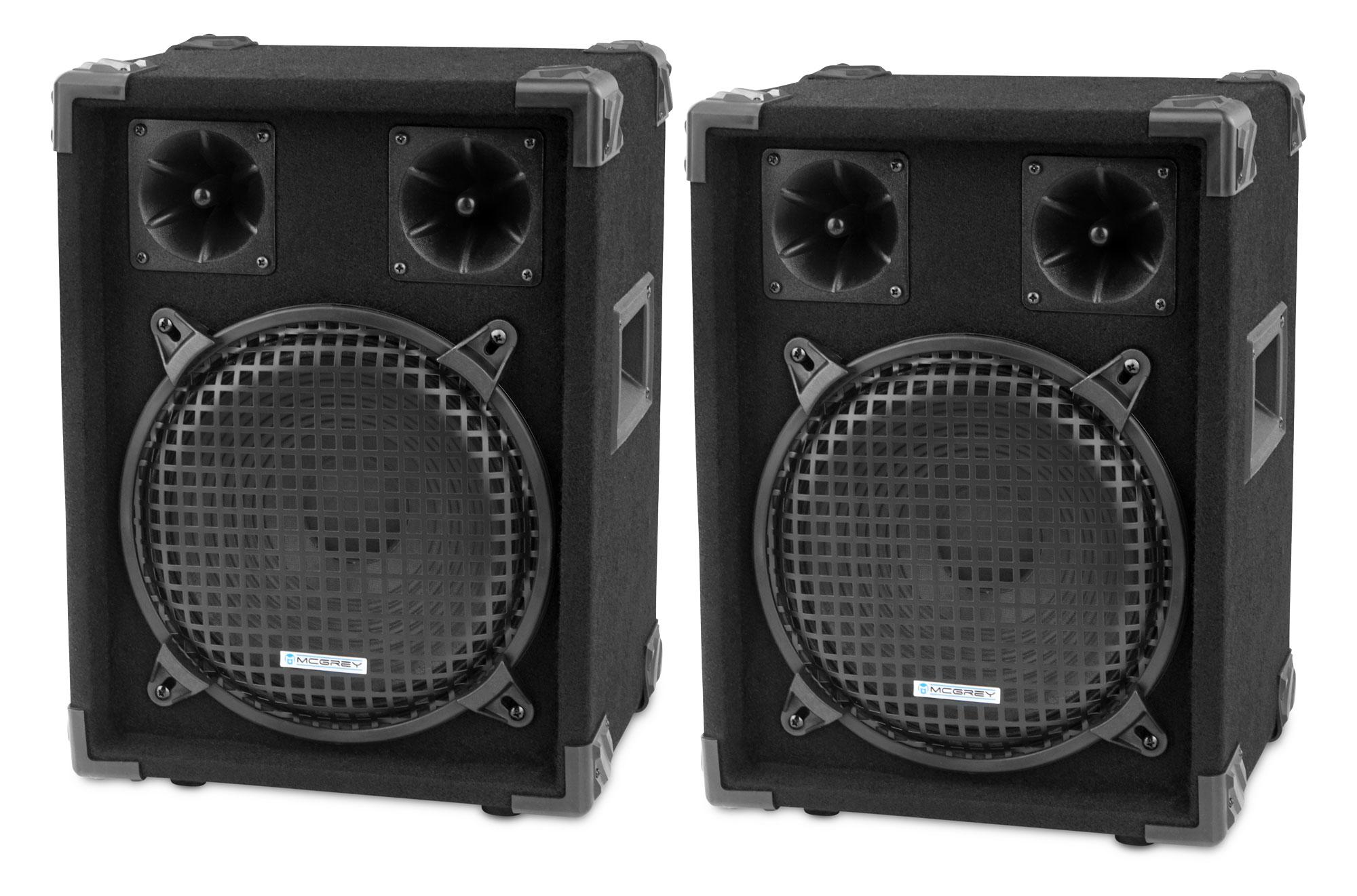 Paendstufen - McGrey DJ 1022 Partykeller|DJ Box Paar 2 x 400W Retoure (Zustand sehr gut) - Onlineshop Musikhaus Kirstein
