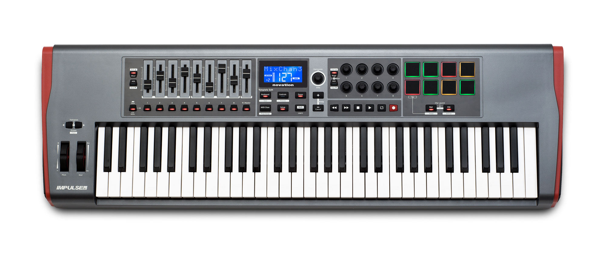 Midimasterkeyboards - Novation Impulse 61 - Onlineshop Musikhaus Kirstein