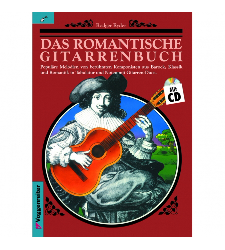 Gitarrelernen - Das romantische Gitarrenbuch (mit CD) - Onlineshop Musikhaus Kirstein