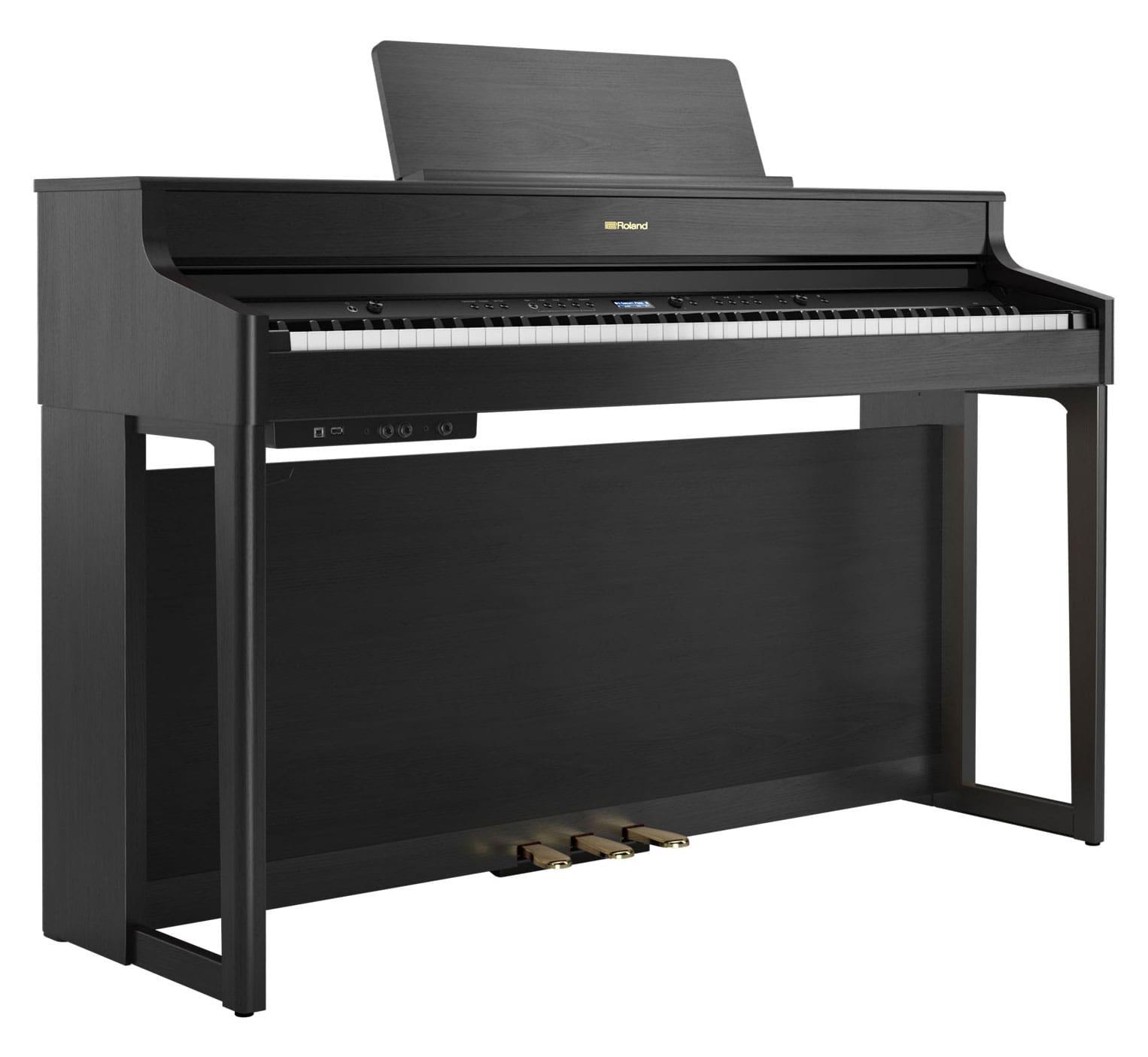 Digitalpianos - Roland HP702 CH Digitalpiano Schwarz matt - Onlineshop Musikhaus Kirstein