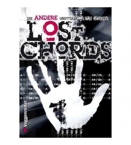 Gitarrelernen - Lost Chords Die andere Grifftabelle für Gitarre - Onlineshop Musikhaus Kirstein