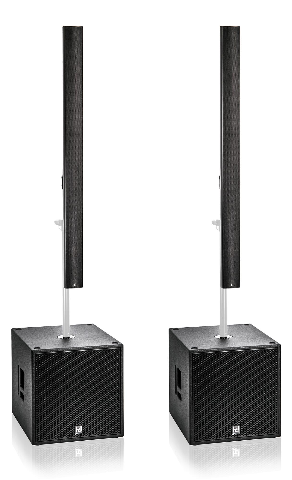 Harmonic Design PL12|P18 PA1 Multi DSP Aktivsystem 3700 Watt