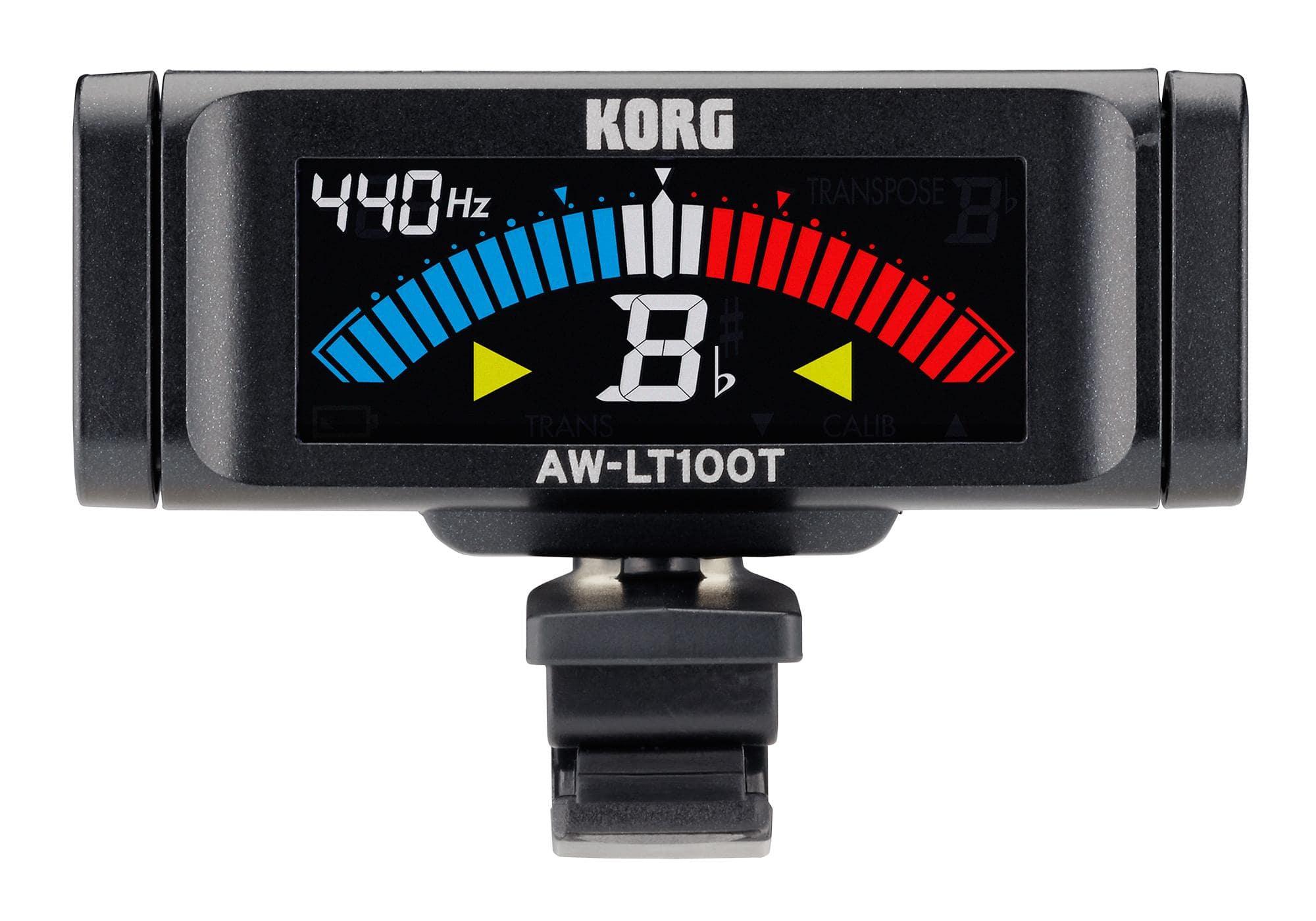 Korg AW LT100T Clip On Tuner