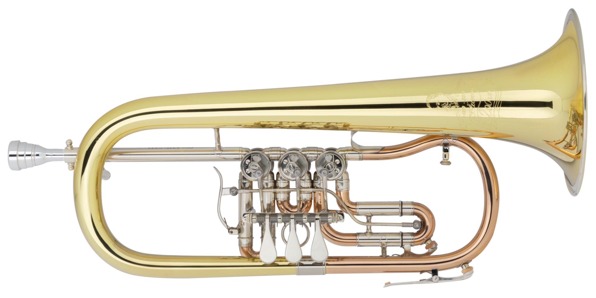 Hoerner - Cerveny CVFH502R C200 Bb Flügelhorn - Onlineshop Musikhaus Kirstein