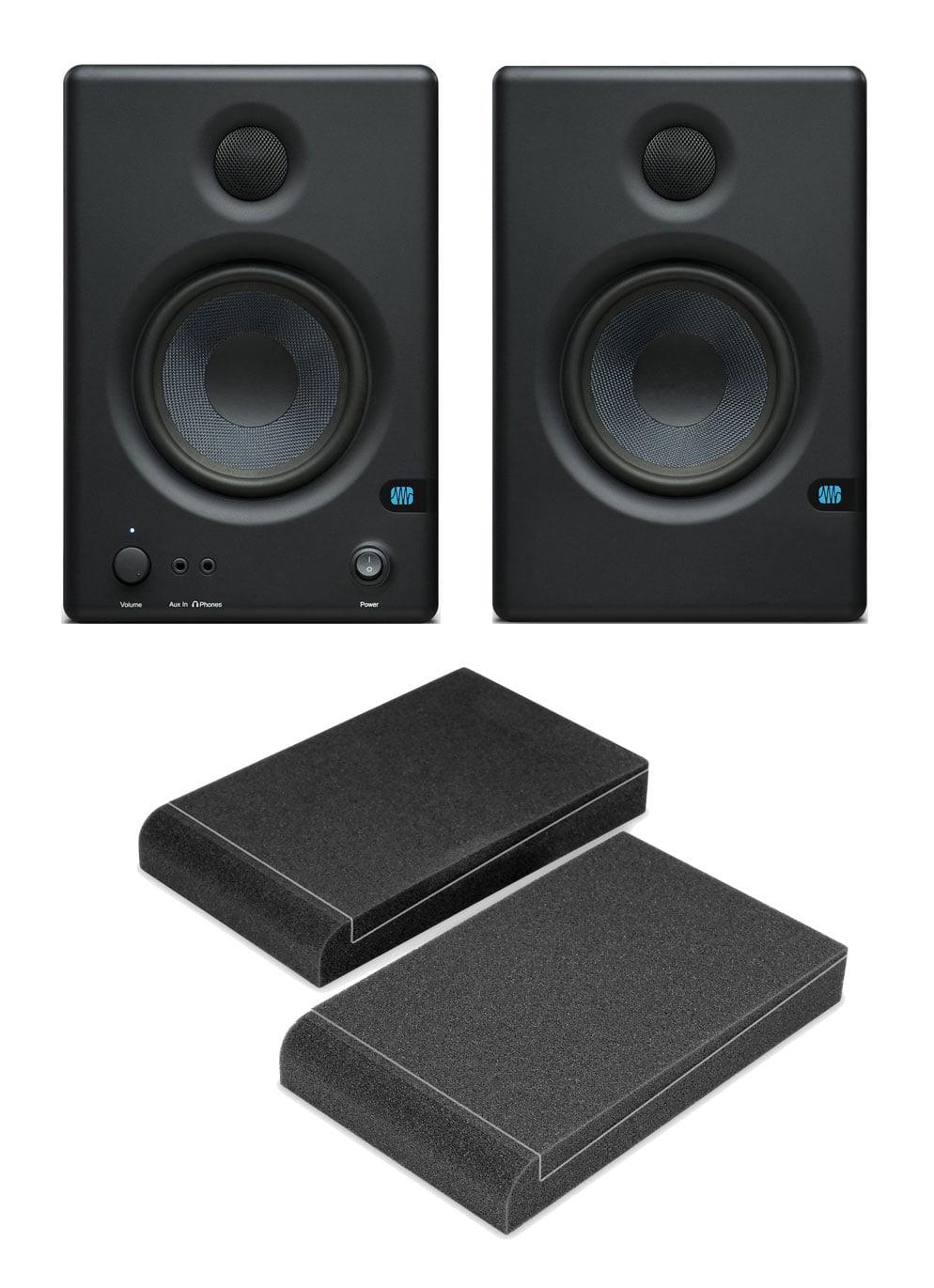 PreSonus Eris E4.5 Aktive Studiomonitor Paar inkl. Absorberplatten