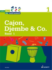 Percussionlernen - Cajon, Djembe Co. Band 1 - Onlineshop Musikhaus Kirstein