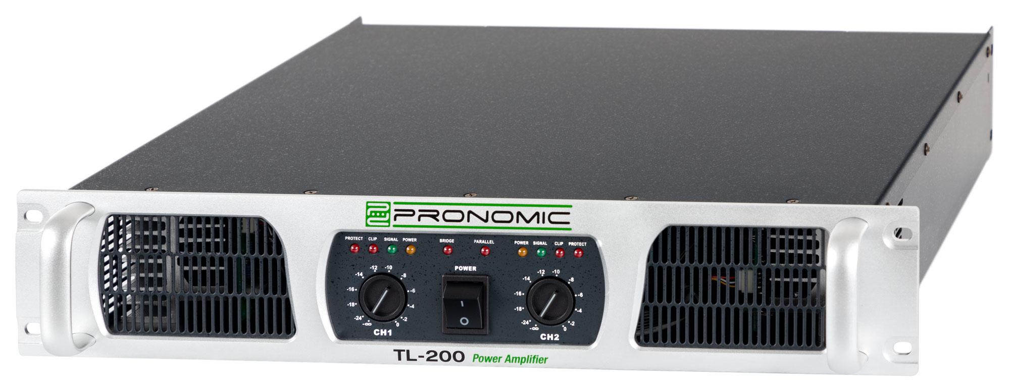 Paendstufen - Pronomic TL 200 Endstufe 2x 500 Watt - Onlineshop Musikhaus Kirstein
