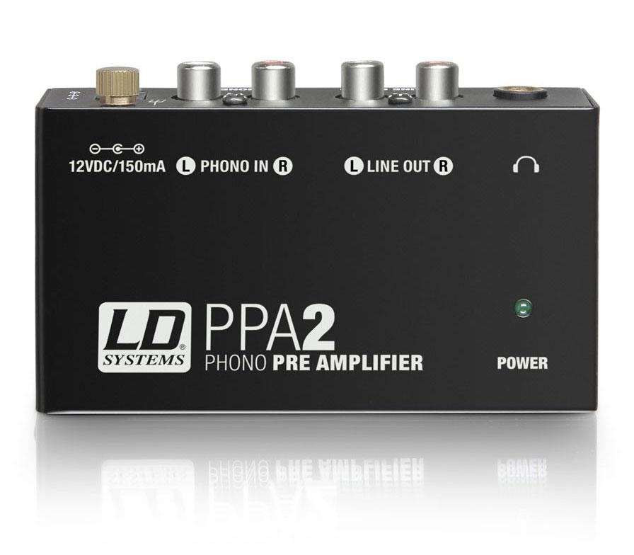 Diboxen - LD Systems PPA 2 Stereo Phono Preamp - Onlineshop Musikhaus Kirstein