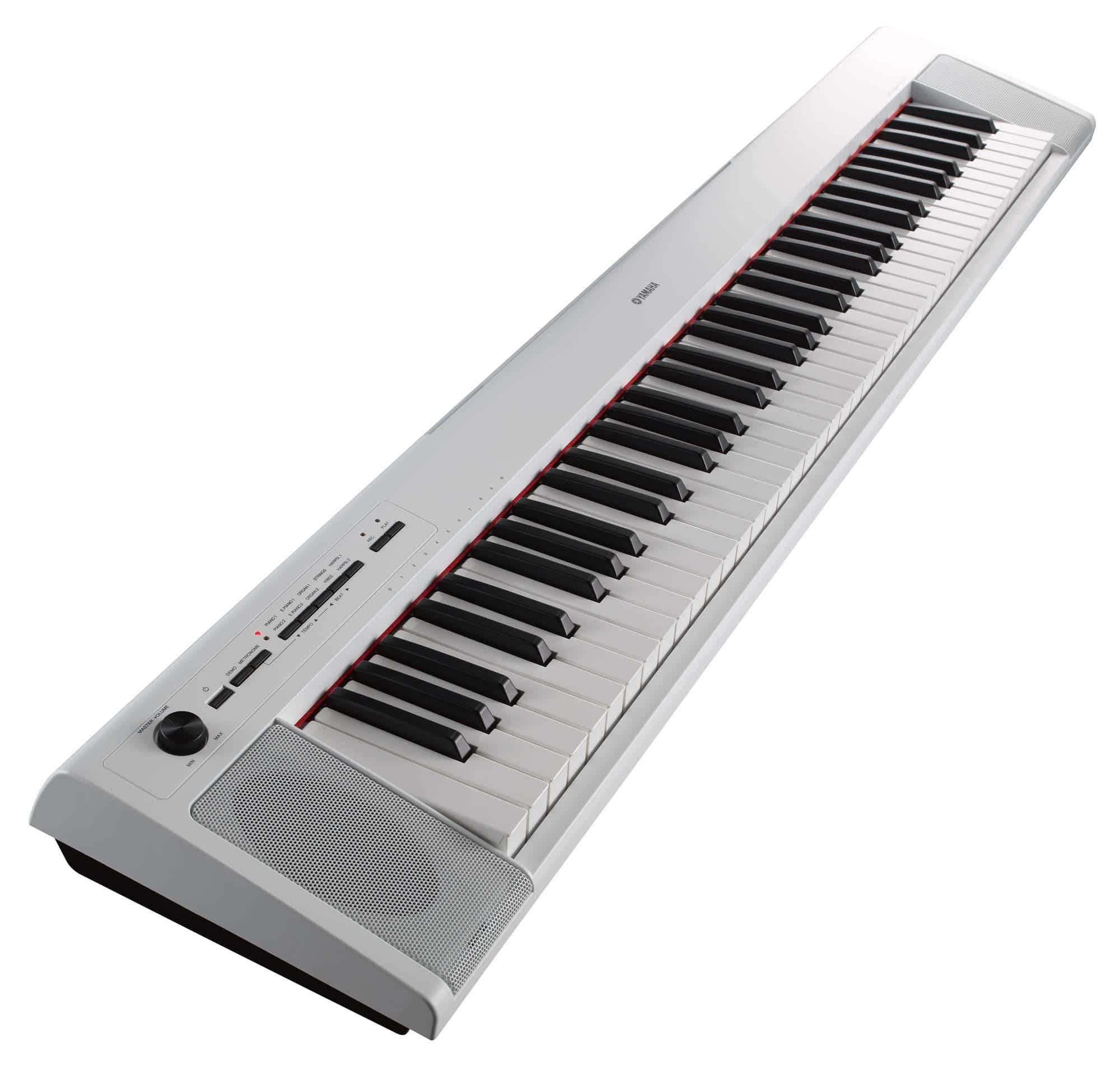 Yamaha NP 32 Portable Piano weiß