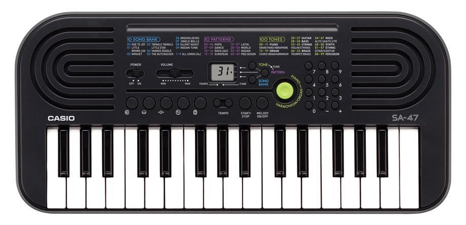Homekeyboards - Casio SA 47 Mini Keyboard - Onlineshop Musikhaus Kirstein