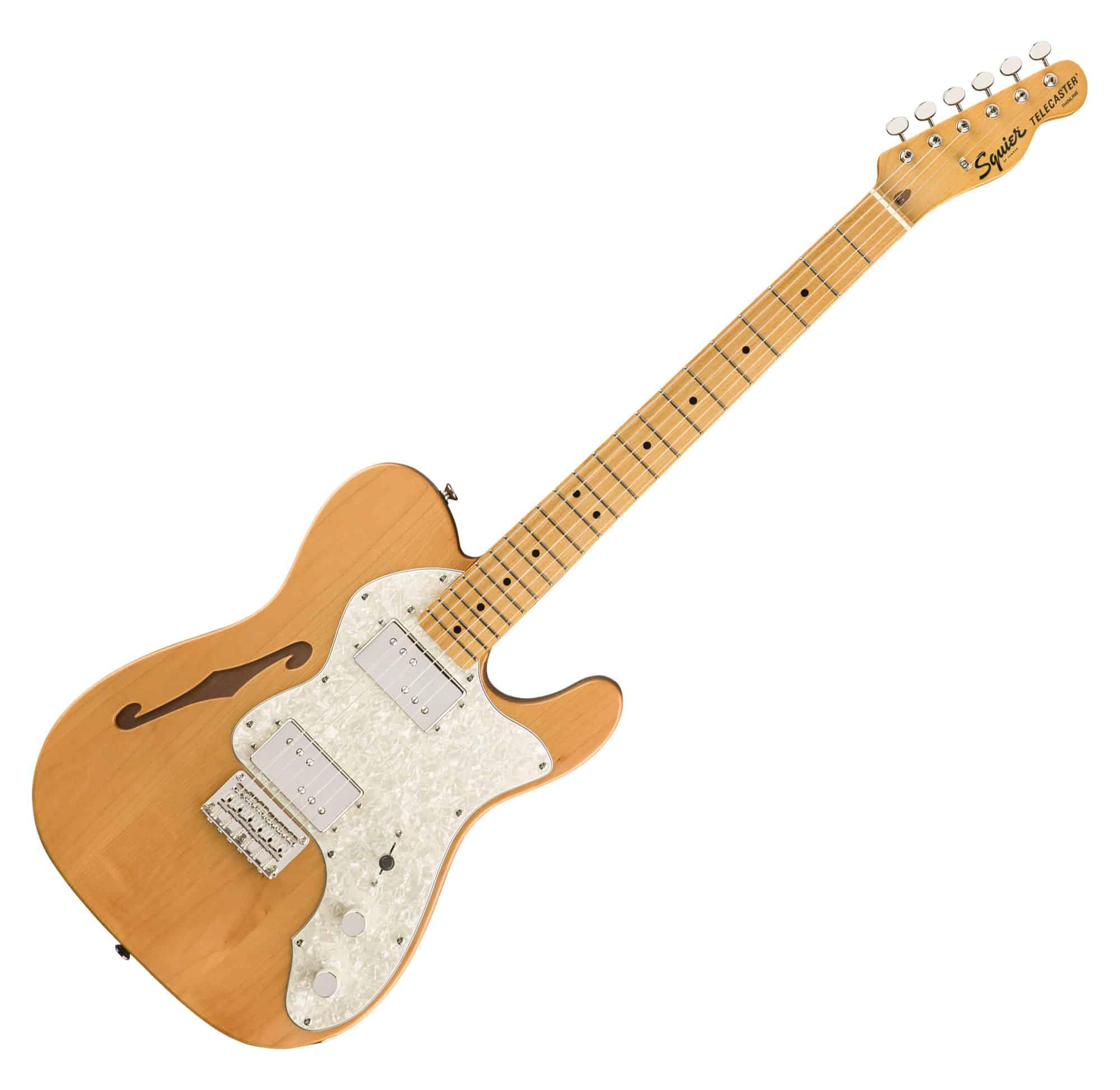 Egitarren - Fender Squier Classic Vibe '70s Tele Thinline MN NAT - Onlineshop Musikhaus Kirstein