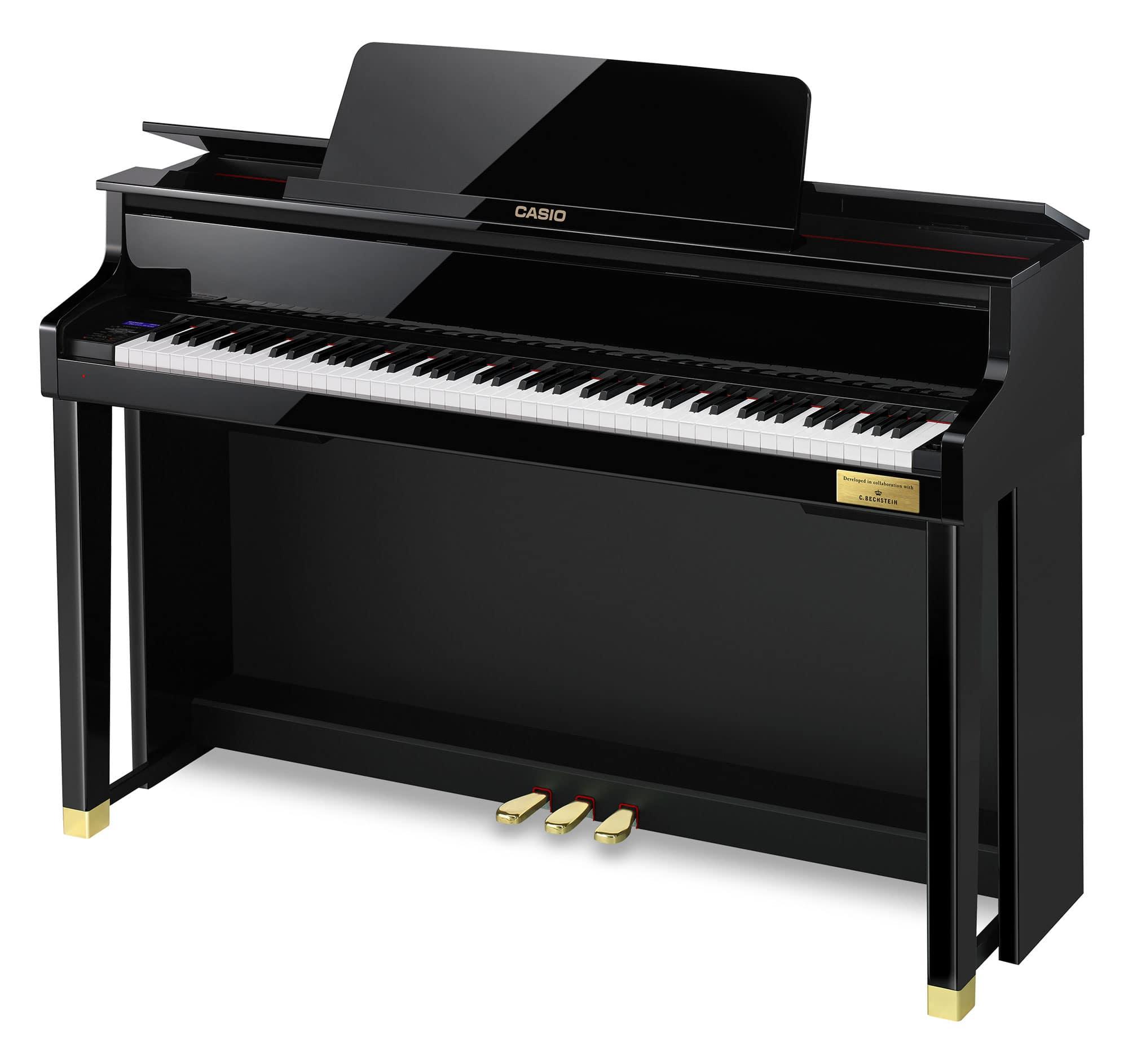 Digitalpianos - Casio GP 510 Celviano Hybrid Digitalpiano schwarz Hochglanz - Onlineshop Musikhaus Kirstein