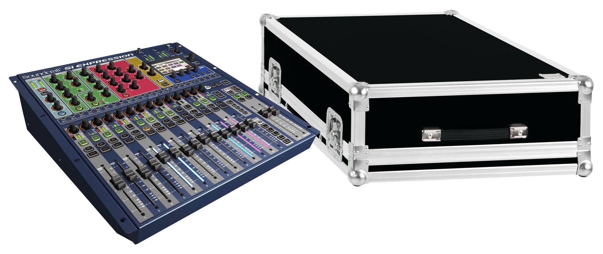 Mischpulte - Soundcraft Si Expression 1 Set mit Case - Onlineshop Musikhaus Kirstein
