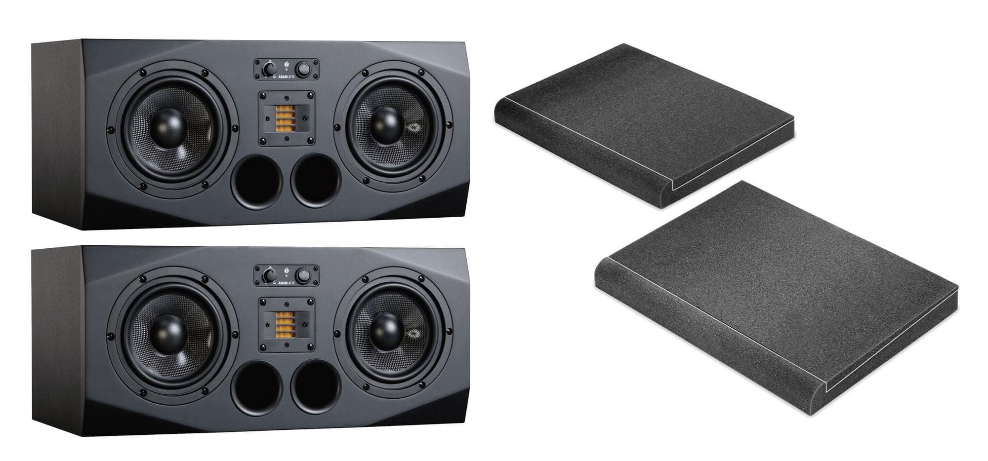 Studiomonitore - Adam Audio A77X ISO Bundle - Onlineshop Musikhaus Kirstein