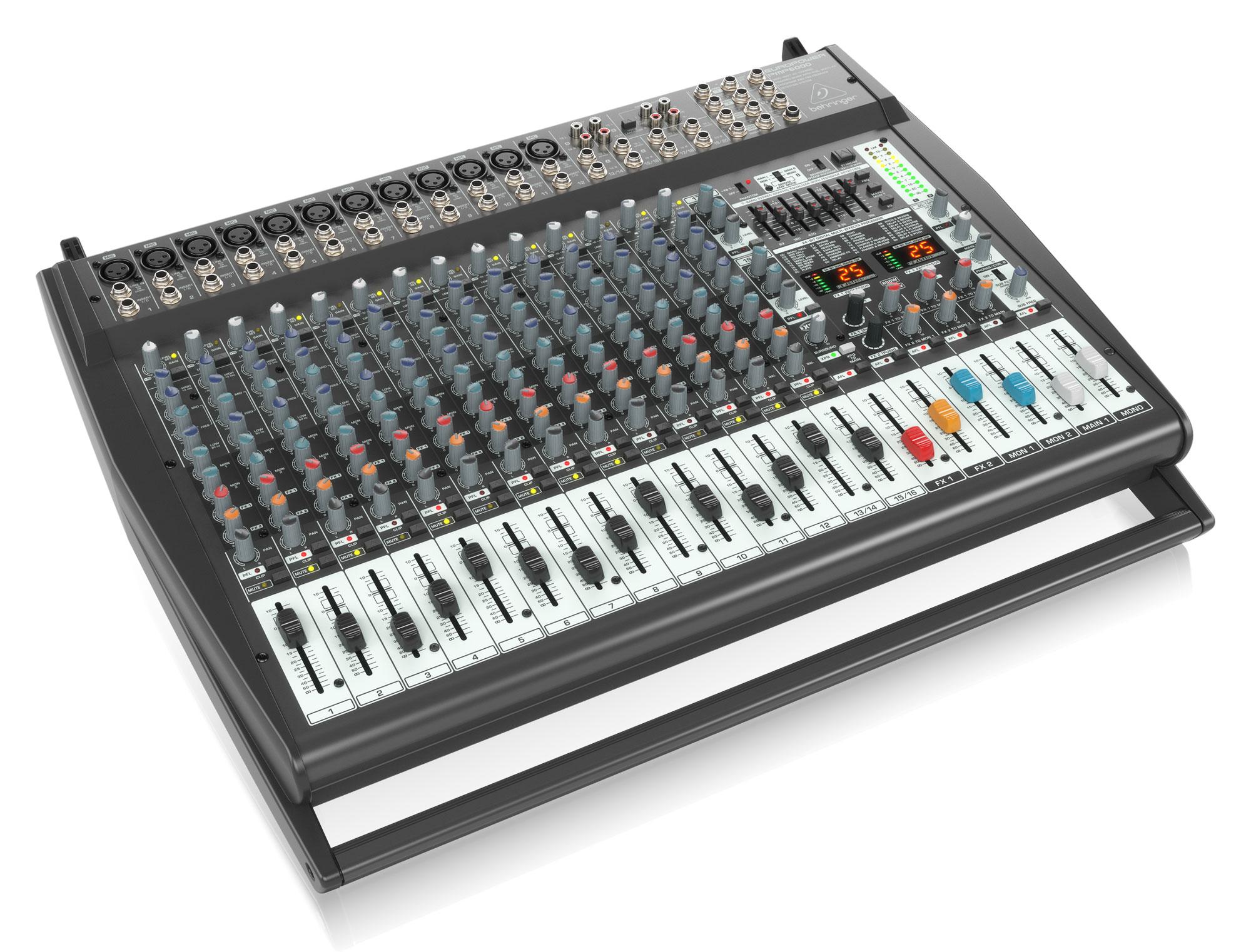 Mischpulte - Behringer PMP6000 Powermixer - Onlineshop Musikhaus Kirstein