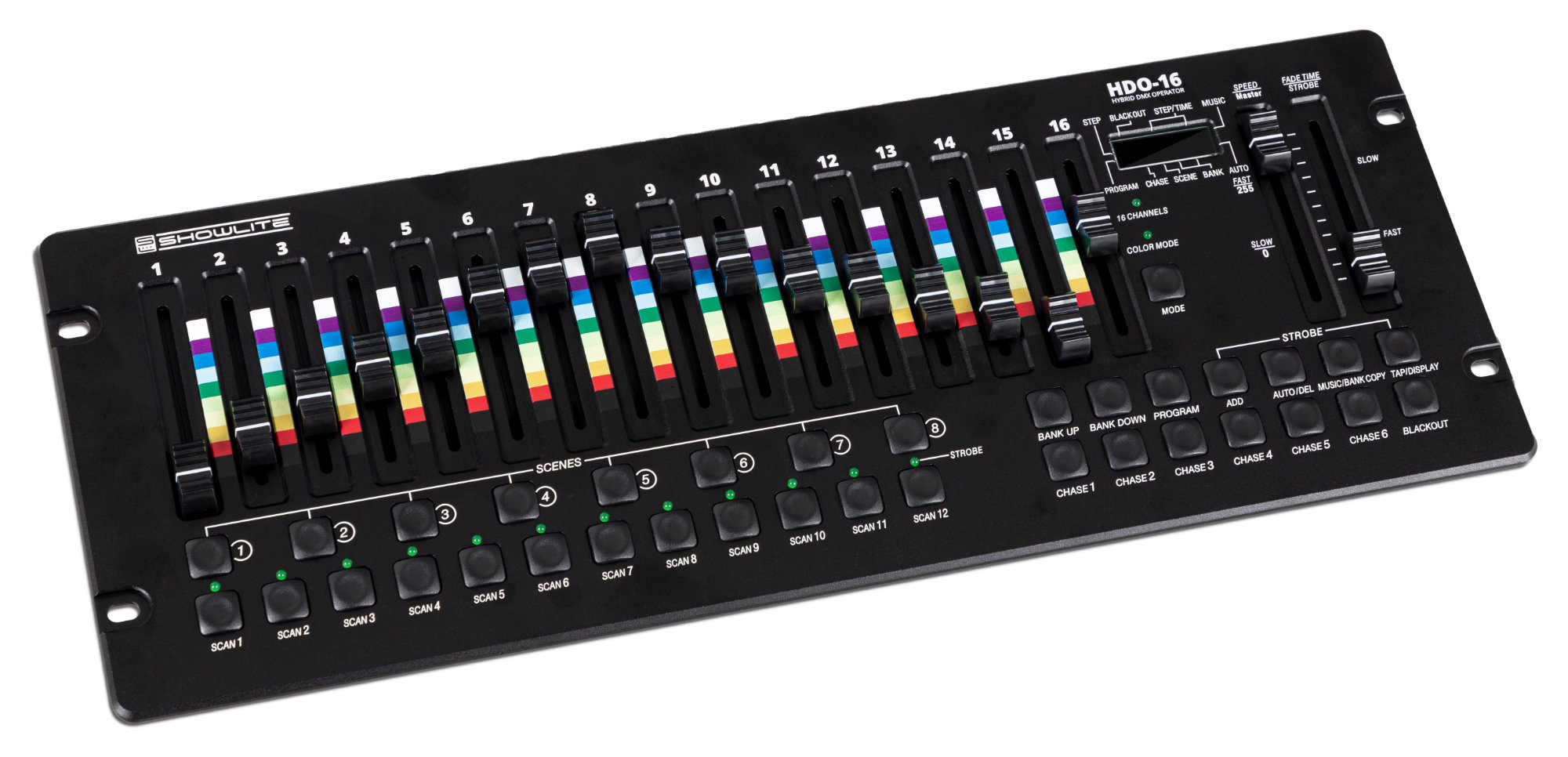 Lichtsteuerung - Showlite HDO 16 Hybrid DMX Controller - Onlineshop Musikhaus Kirstein