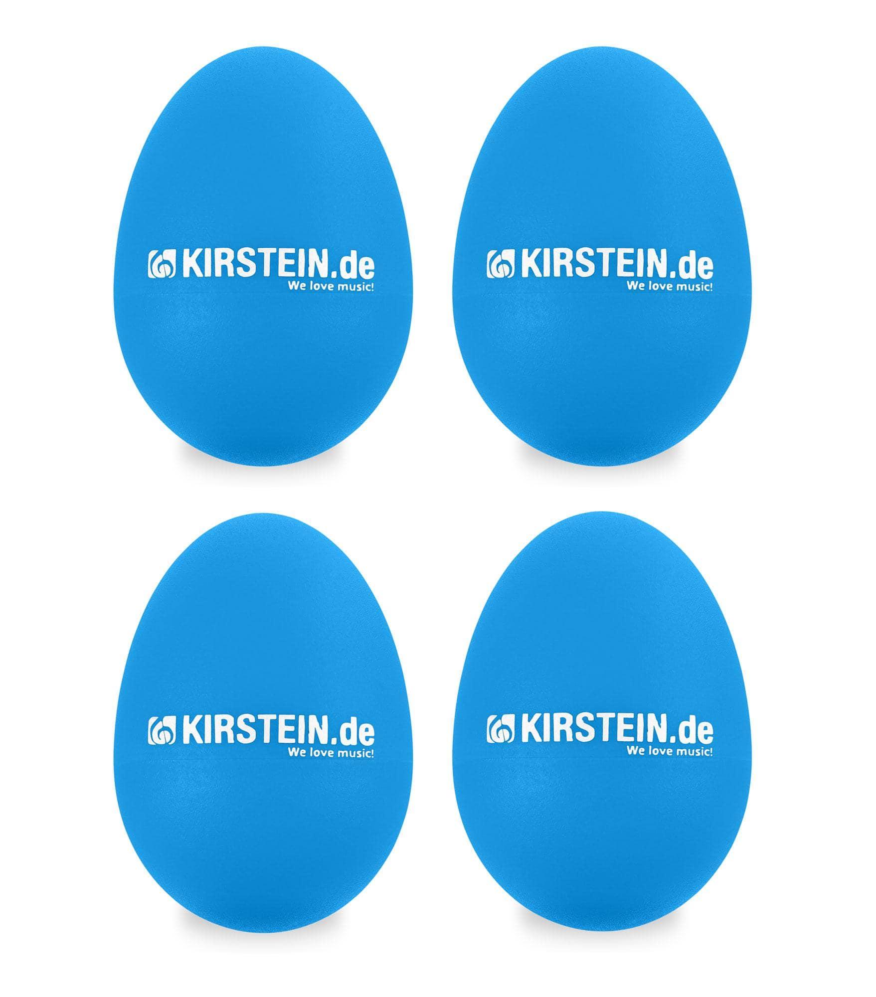 4x Kirstein ES 10B Egg Shaker blau Medium Set
