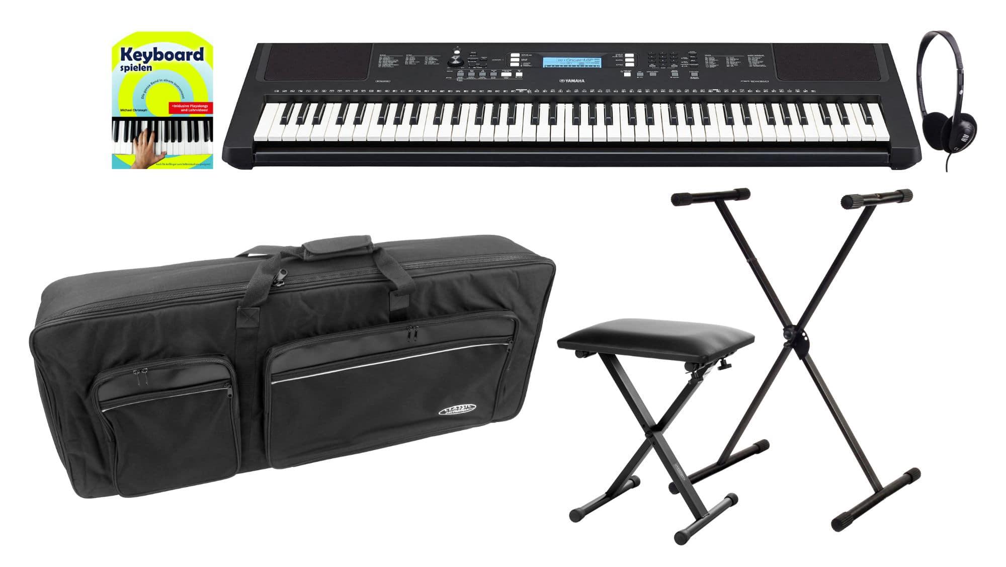 Homekeyboards - Yamaha PSR EW310 Keyboard Deluxe Set - Onlineshop Musikhaus Kirstein