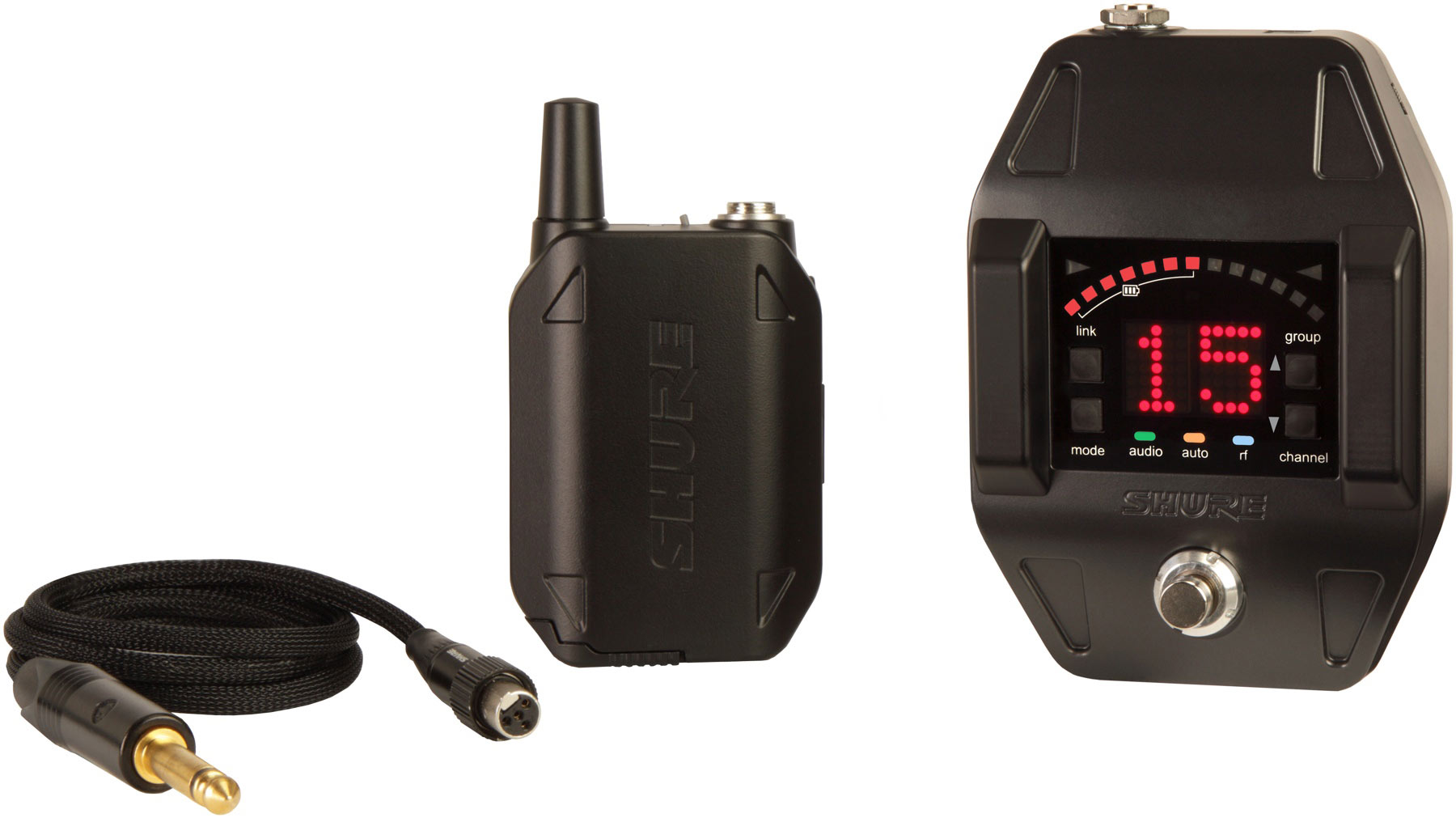 Shure GLXD16 Wireless Bodypack System
