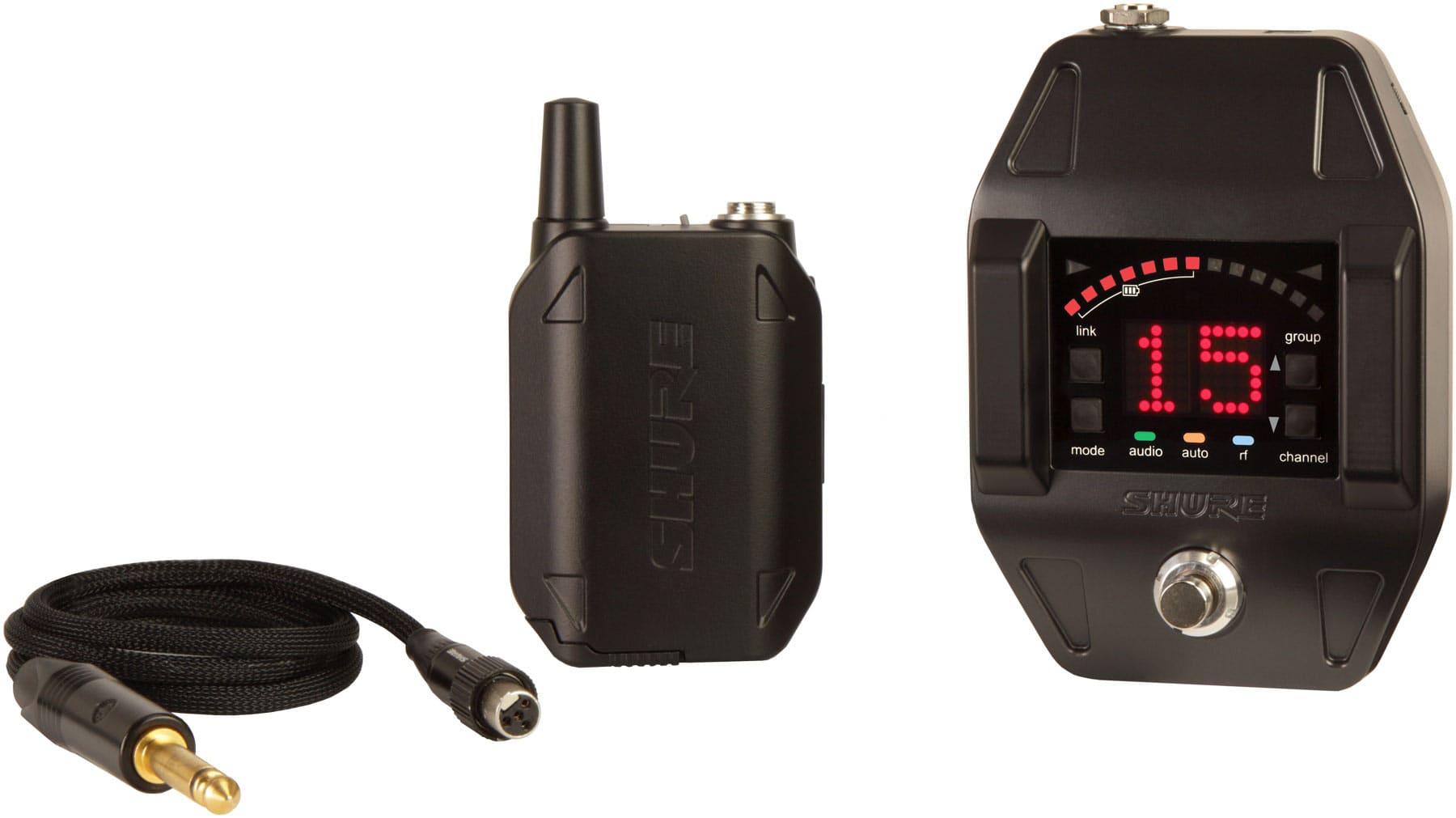 Drahtlossysteme - Shure GLXD16 Wireless Bodypack System - Onlineshop Musikhaus Kirstein