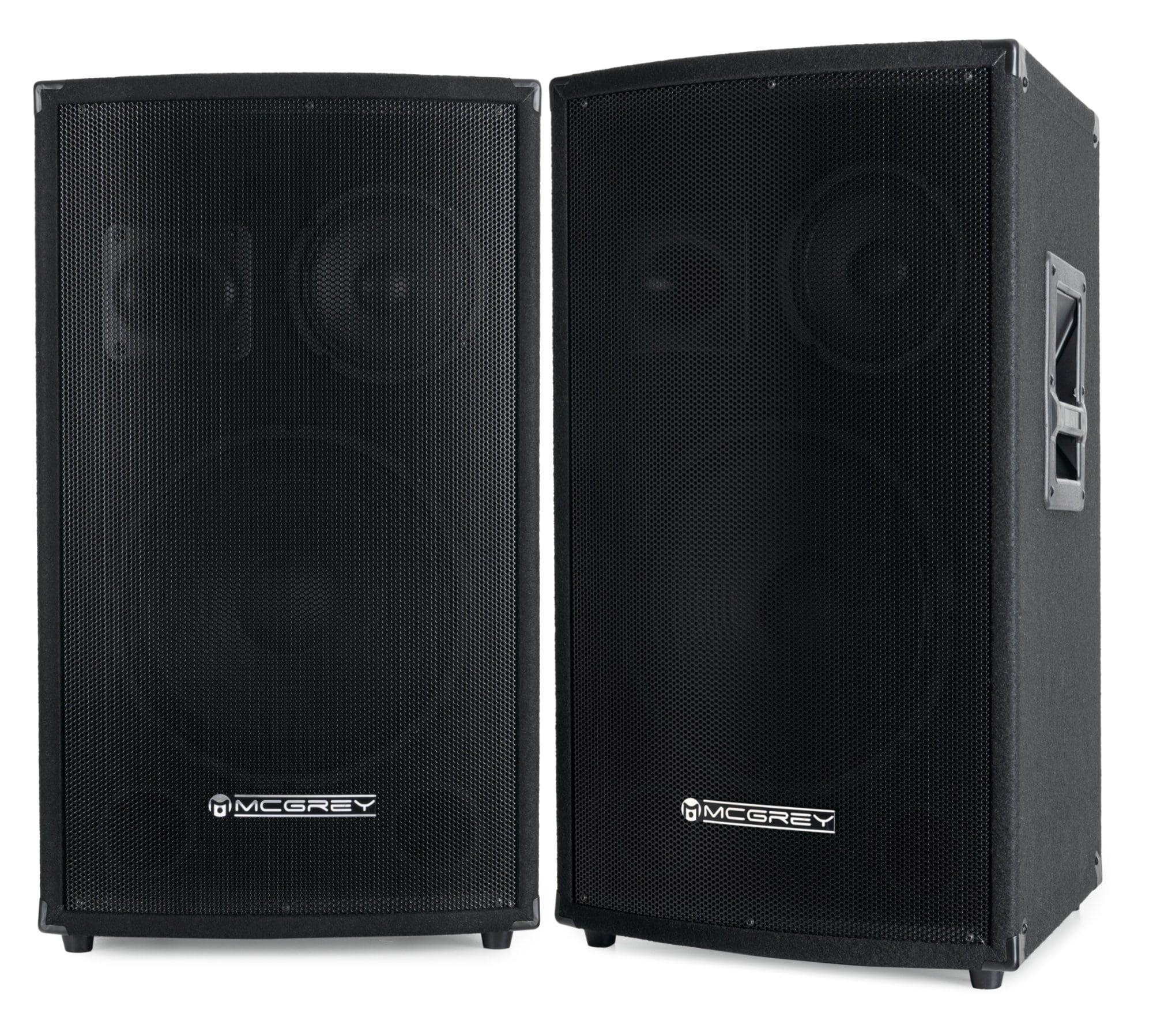 Paboxen - McGrey SL 12|3 Partykeller|DJ Box 600W Paar 2 x 600W - Onlineshop Musikhaus Kirstein