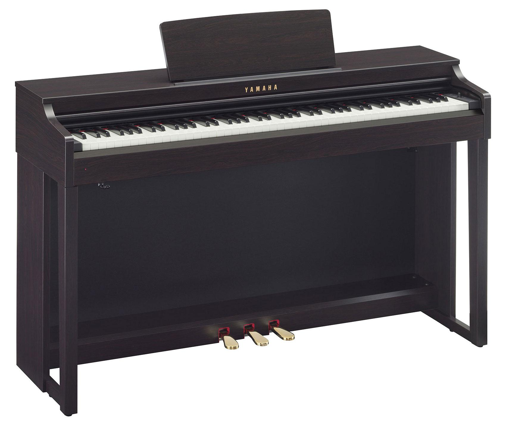 yamaha clp 525 r digitalpiano rosenholz. Black Bedroom Furniture Sets. Home Design Ideas