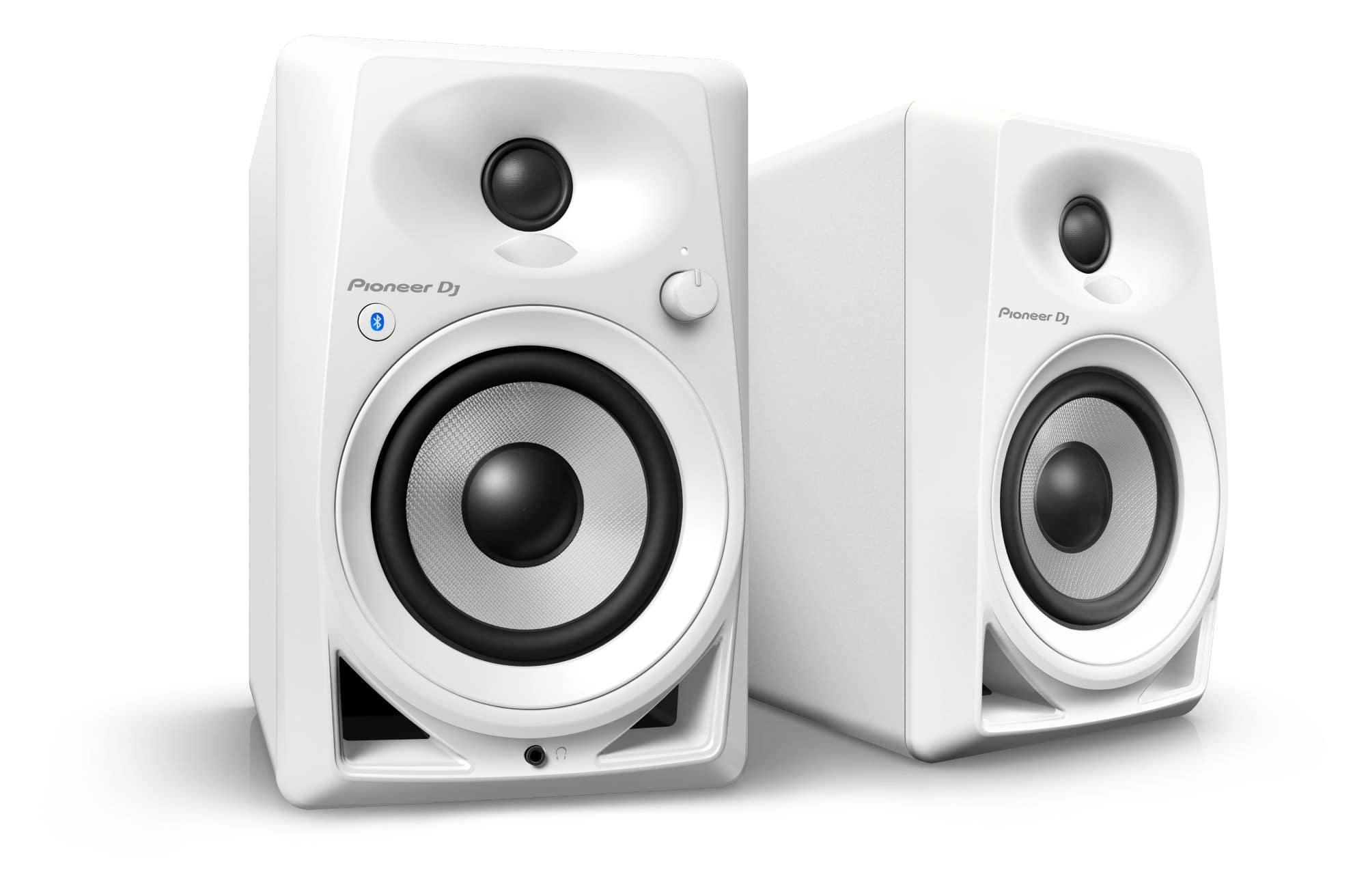 Studiomonitore - Pioneer DJ DM 40BT W Weiß Paar - Onlineshop Musikhaus Kirstein