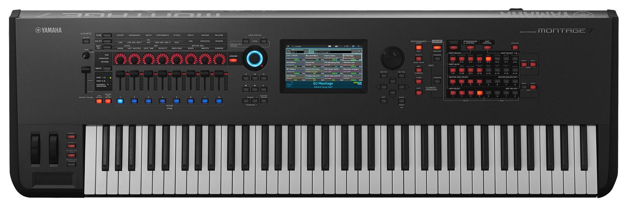 Synthesizer - Yamaha Montage 7 Synthesizer 76 Tasten - Onlineshop Musikhaus Kirstein