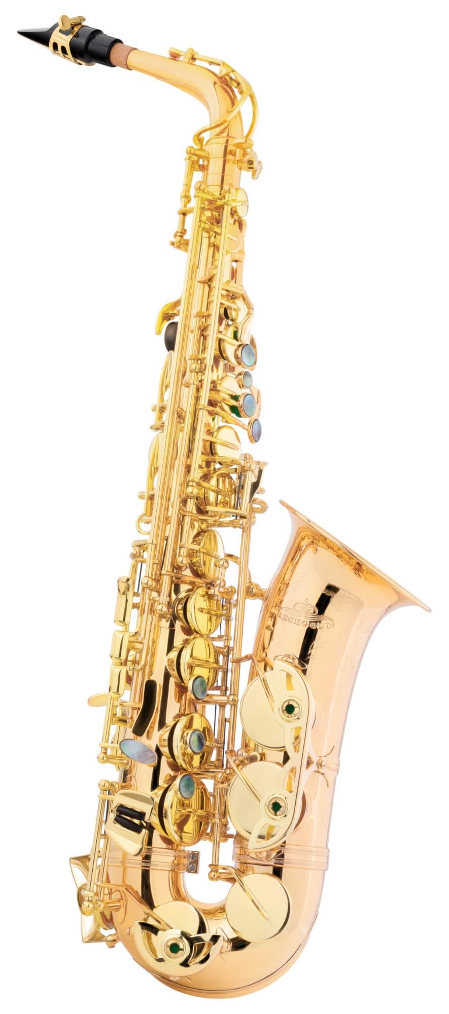 Saxophone - Lechgold LAS 20GM Alt Saxophon lackiert - Onlineshop Musikhaus Kirstein