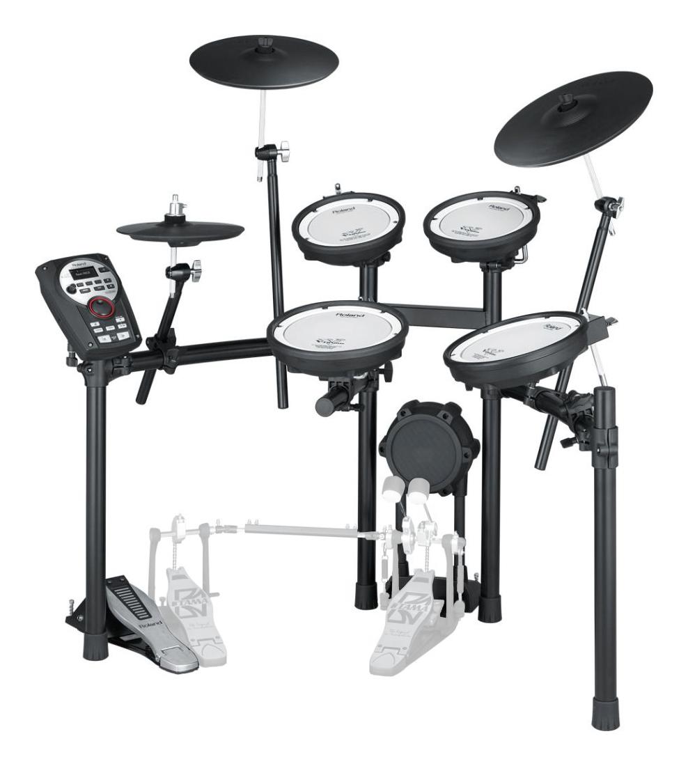 Roland TD 11KV V Drumset inkl. MDS 4V Drumrack