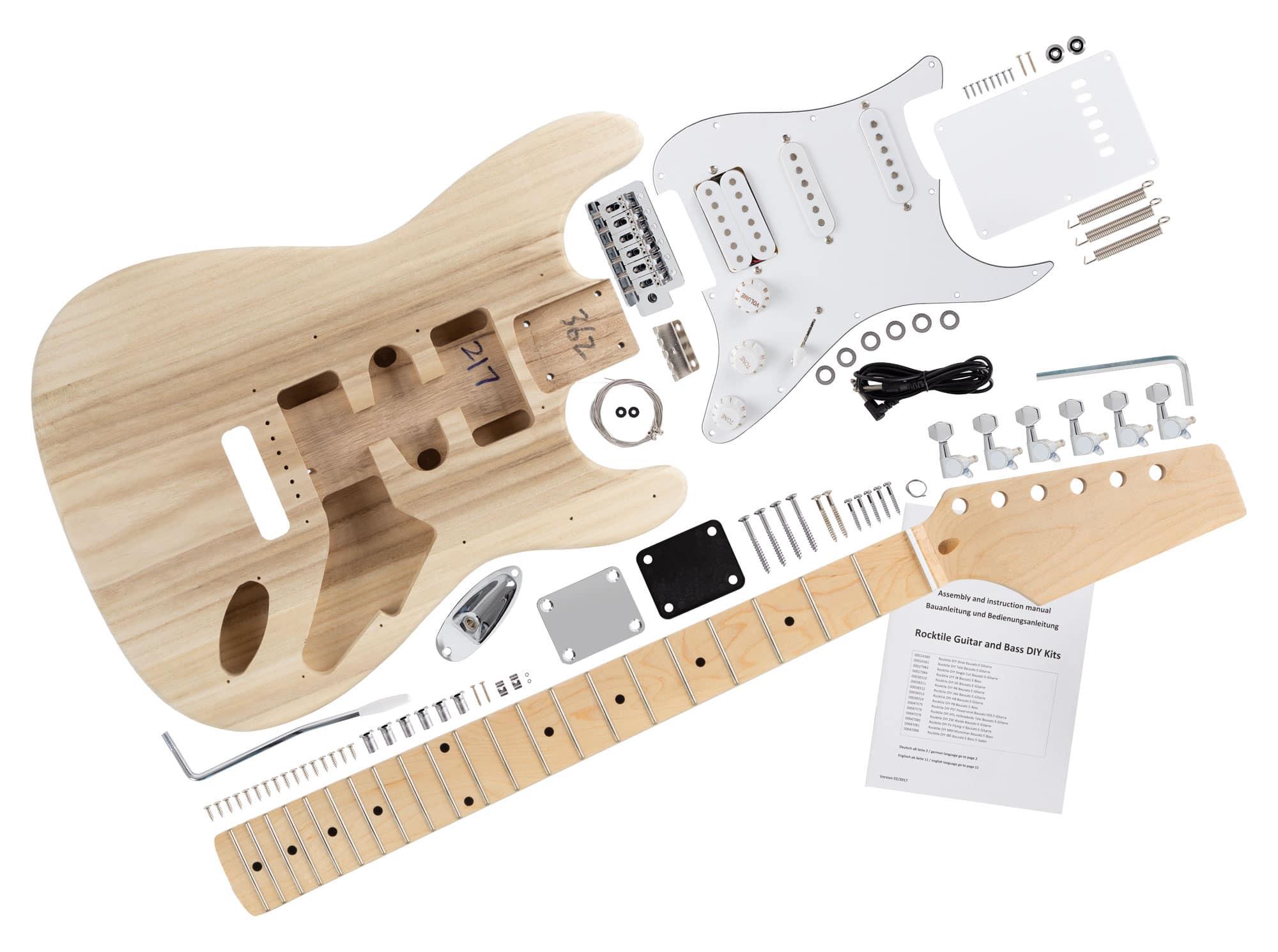 rocktile e gitarren bausatz pst style. Black Bedroom Furniture Sets. Home Design Ideas