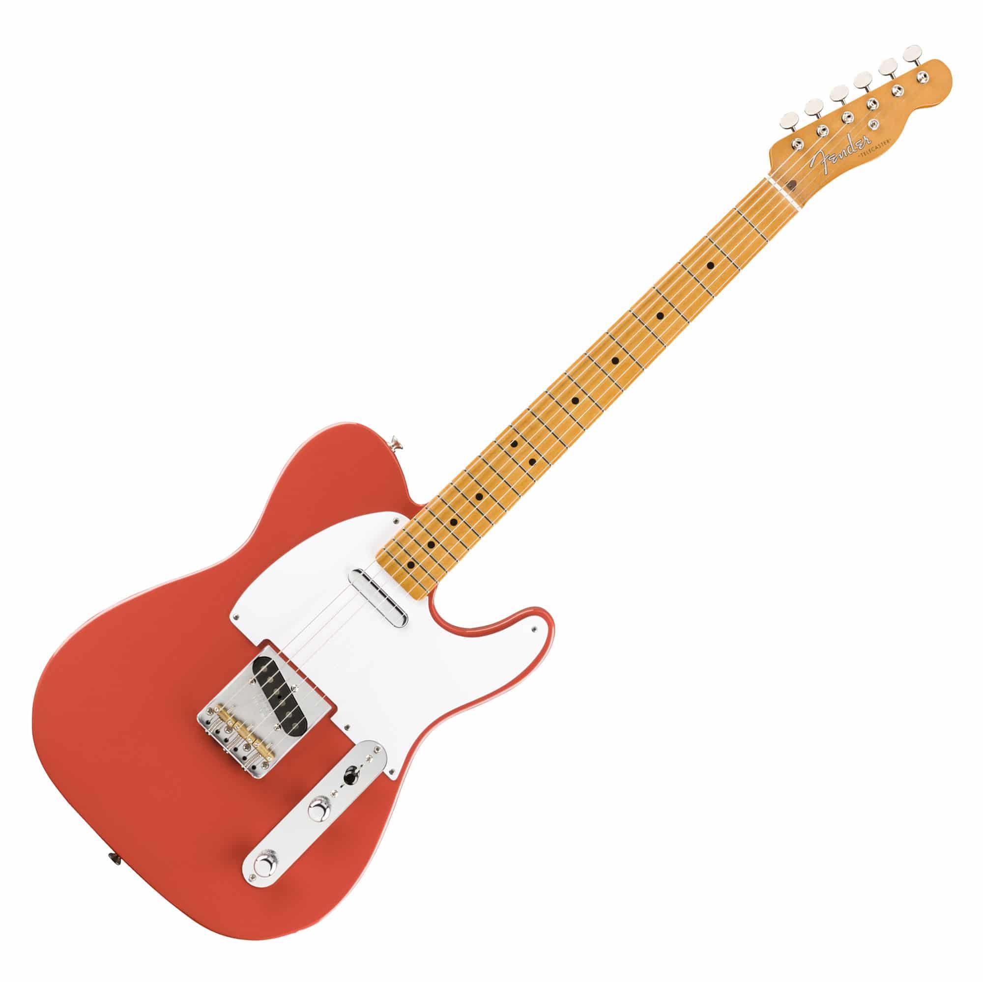 Egitarren - Fender Vintera '50s Tele MN FRD - Onlineshop Musikhaus Kirstein
