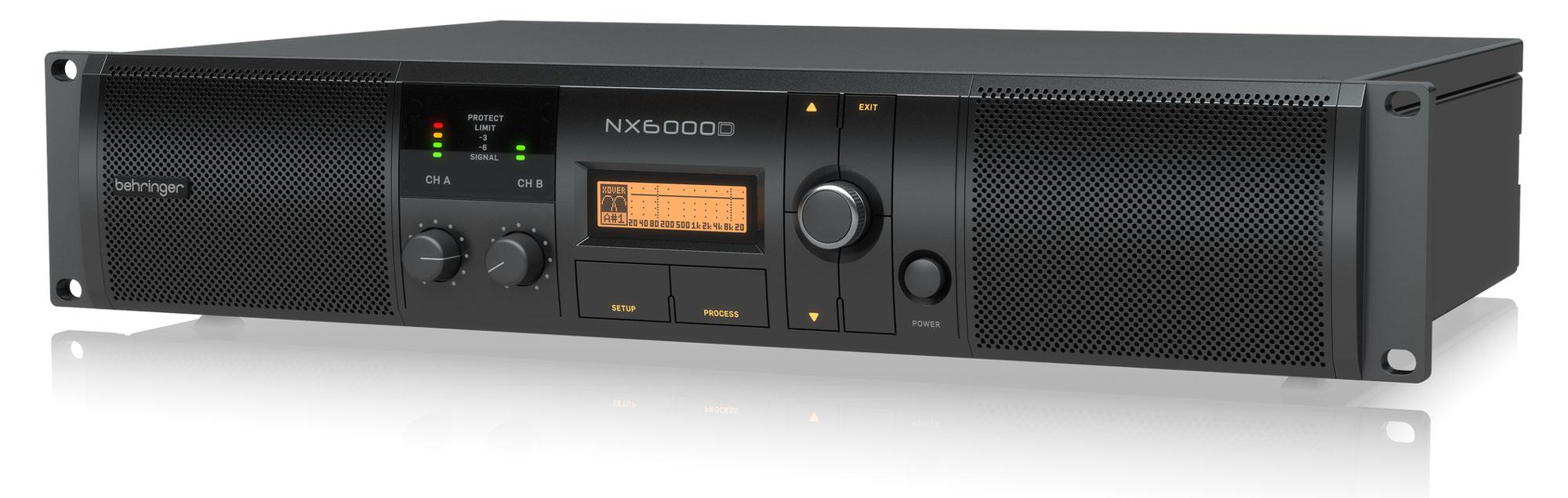 Paendstufen - Behringer NX6000D Endstufe - Onlineshop Musikhaus Kirstein
