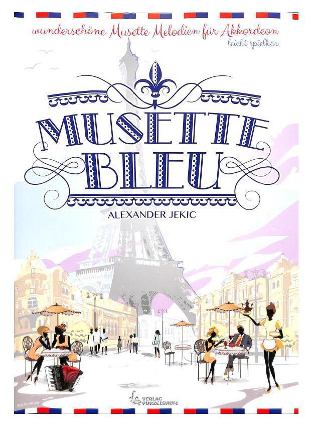 Akkordeonlernen - Musette bleu - Onlineshop Musikhaus Kirstein