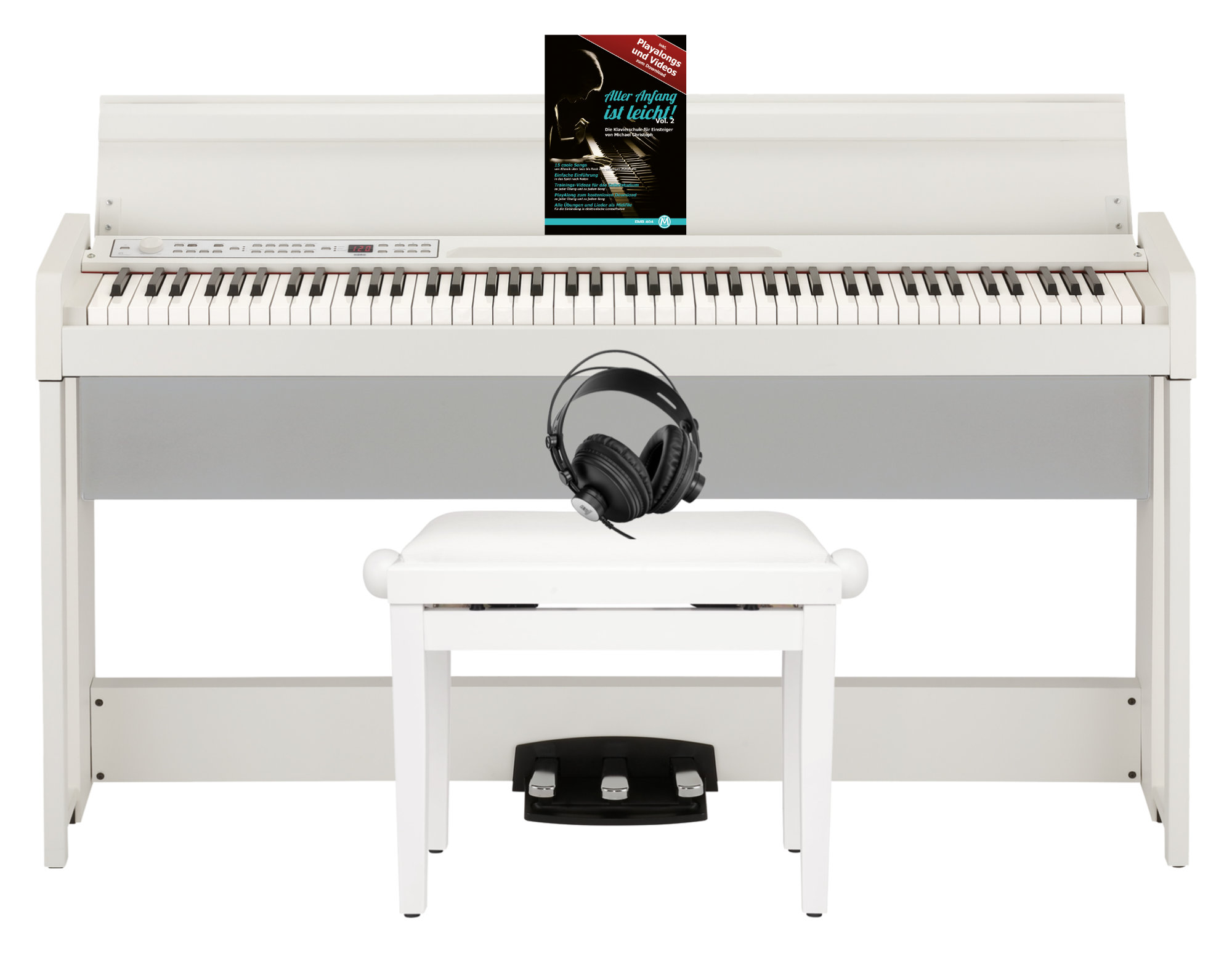 Korg C1 Air Digital Piano WH Home Set