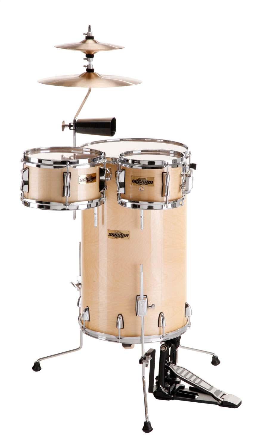 XDrum Club Percussion Kit Translucent Maple