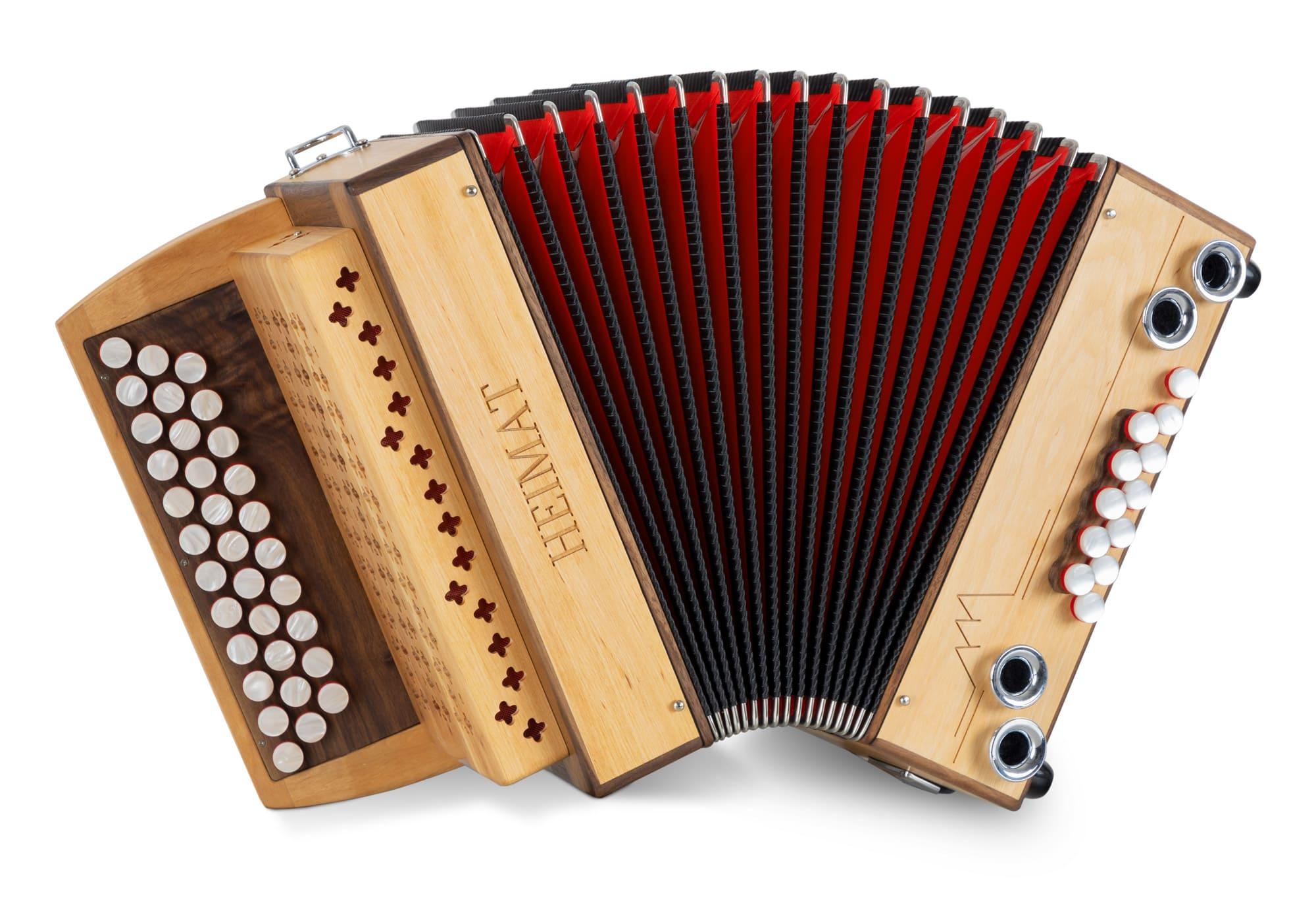 Akkordeons - Heimat 3|II Harmonika G C F Erle - Onlineshop Musikhaus Kirstein