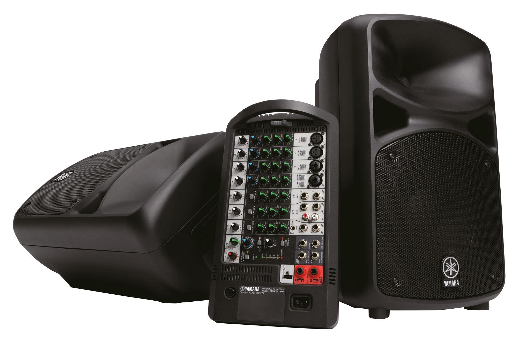 Yamaha Stagepas 600i Portable PA Aussteller (Zustand gut)
