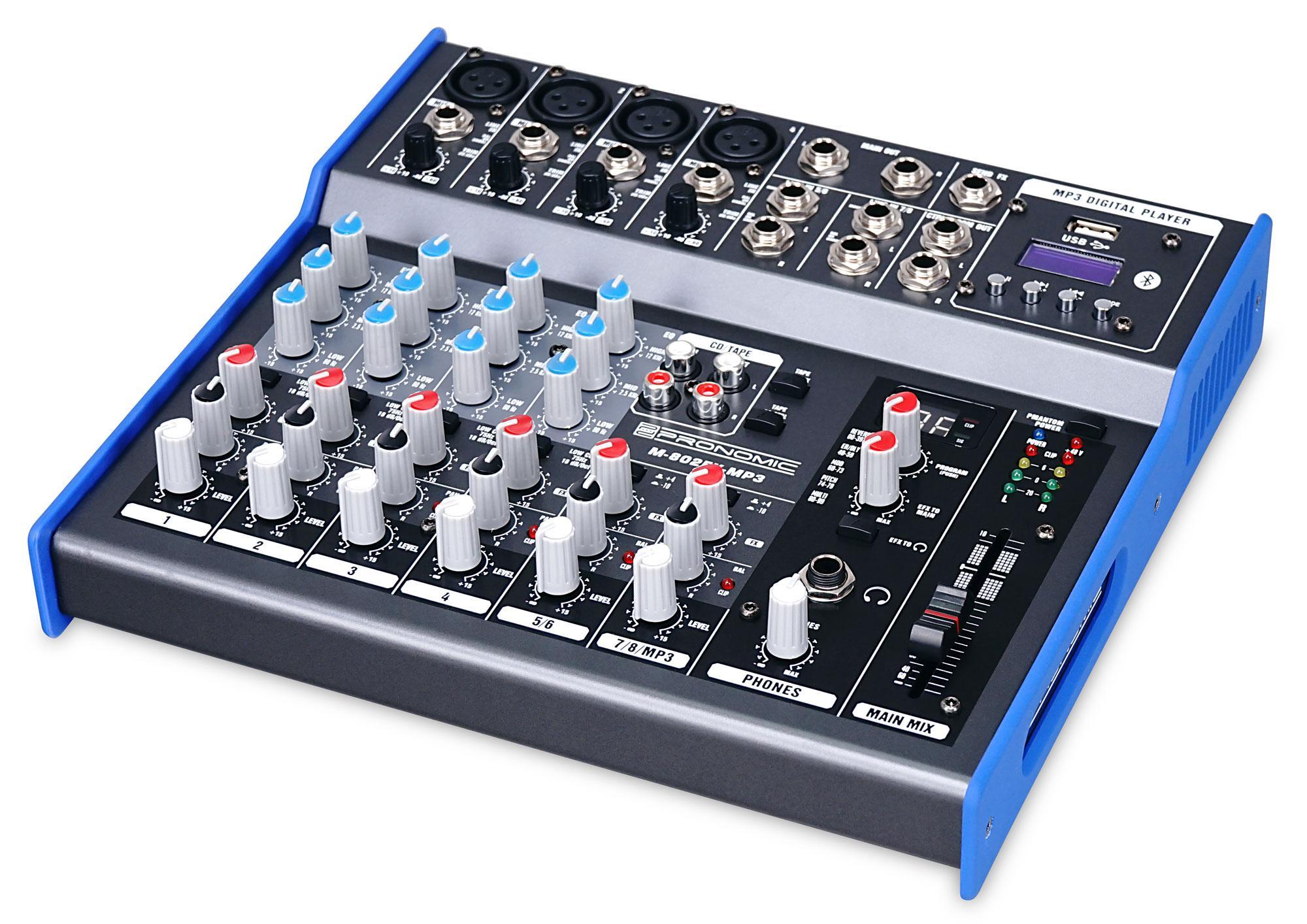 Pronomic M 802FX MP3 Mischpult