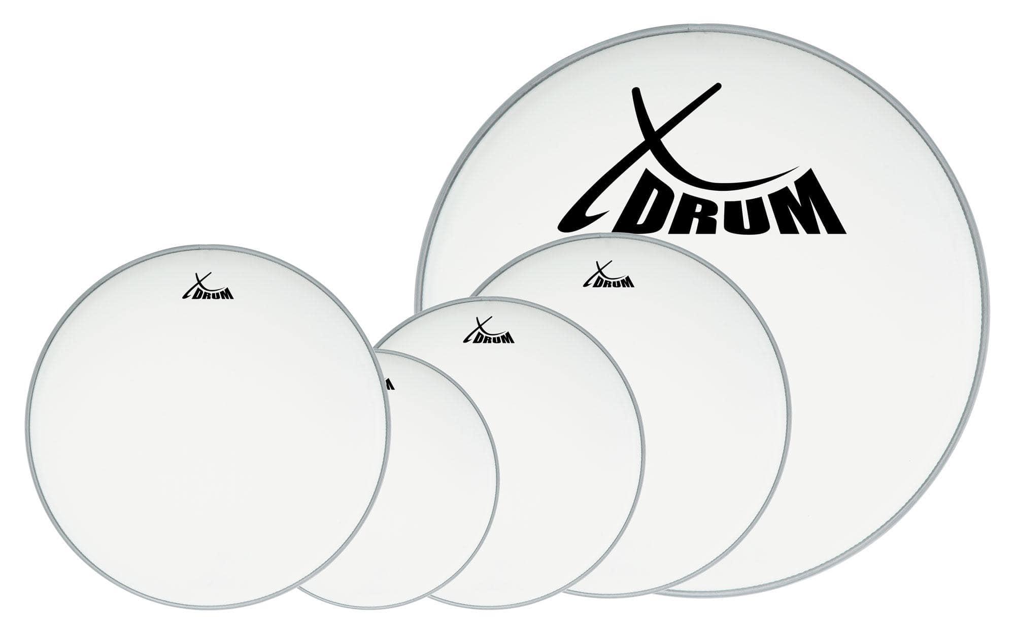 XDrum Coated Drumfell SET 10' 12' 14' 22' 14'