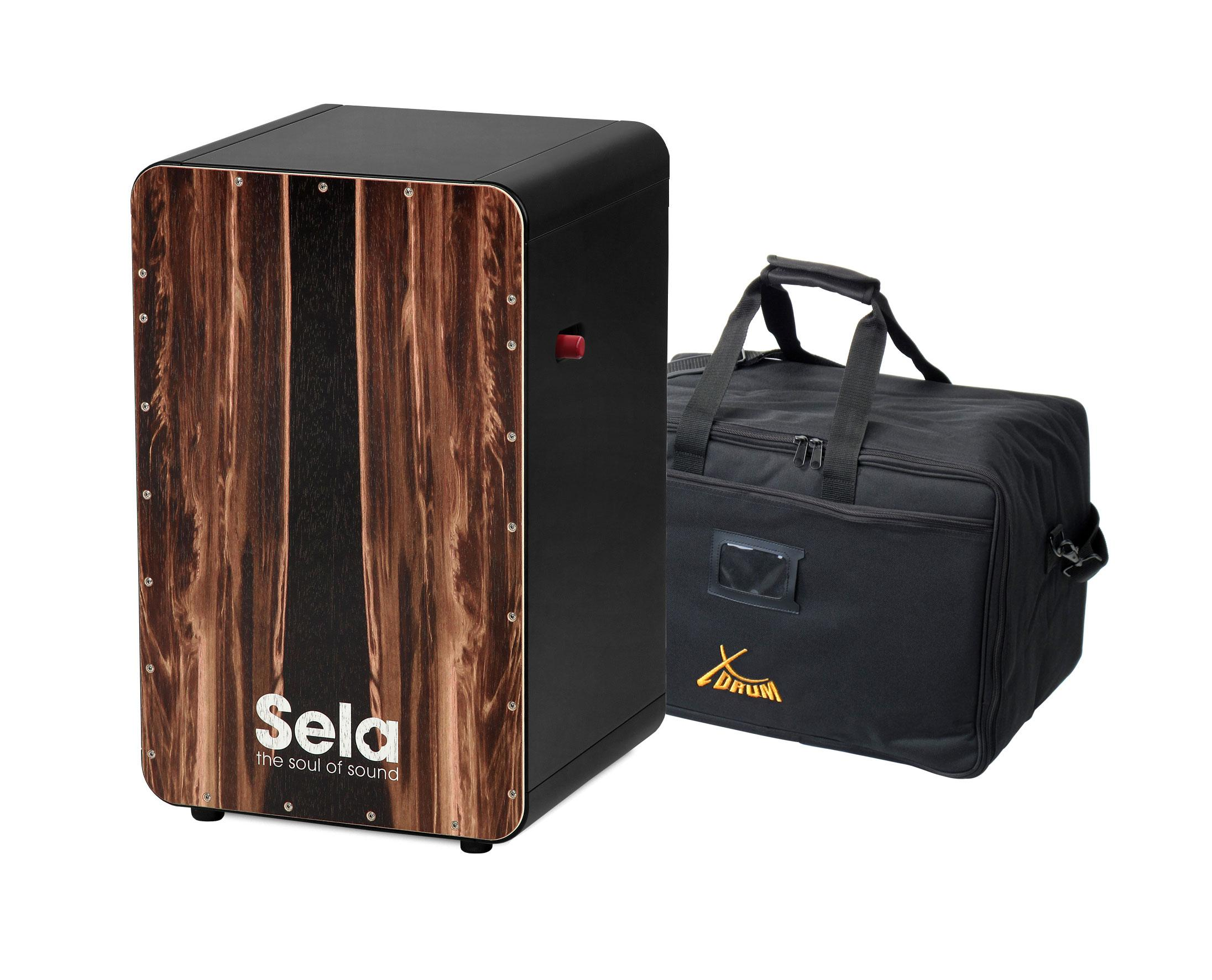 Sela SE 107 CaSela Black Pro Dark Nut SET Tasche