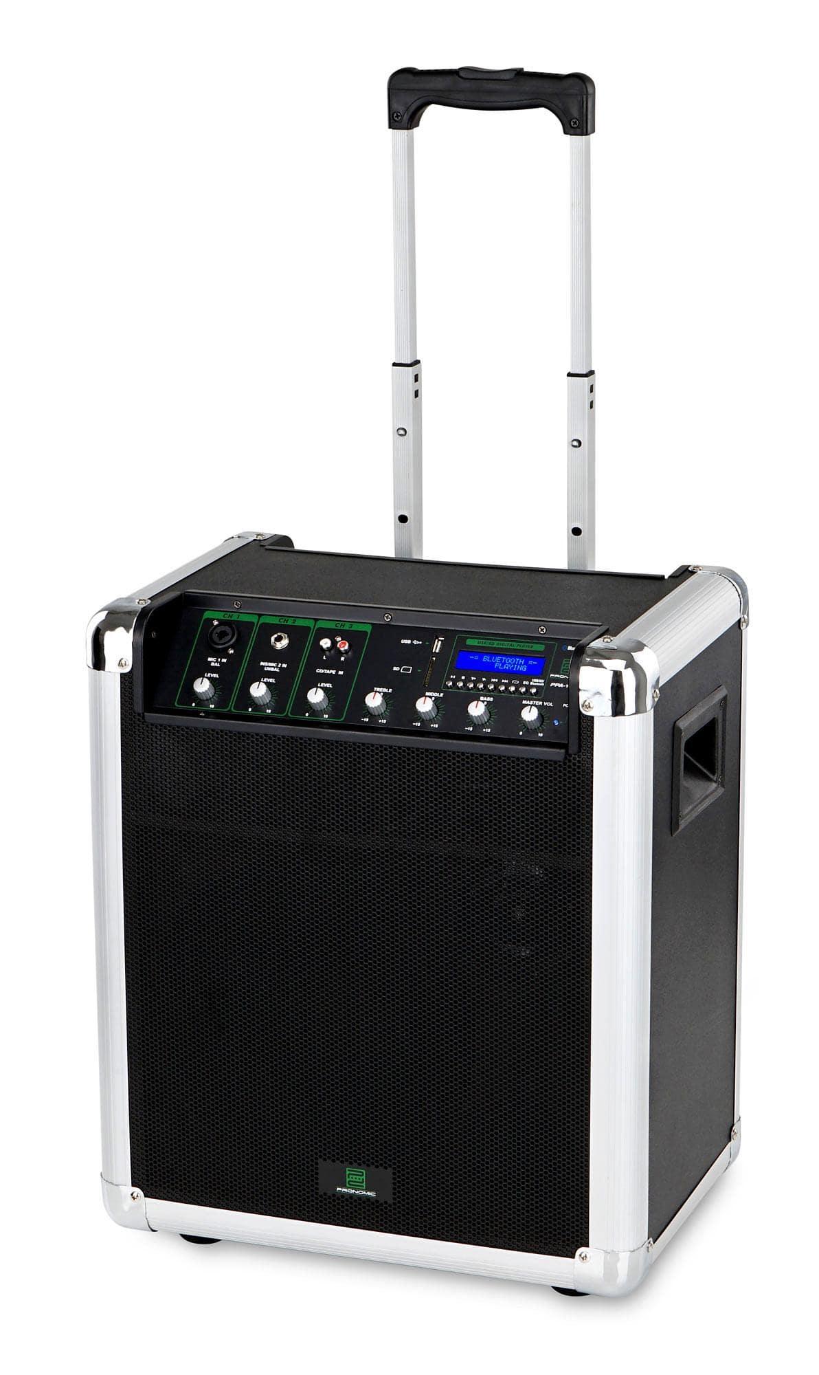 pronomic ppa10m akku aktivbox 50 watt. Black Bedroom Furniture Sets. Home Design Ideas