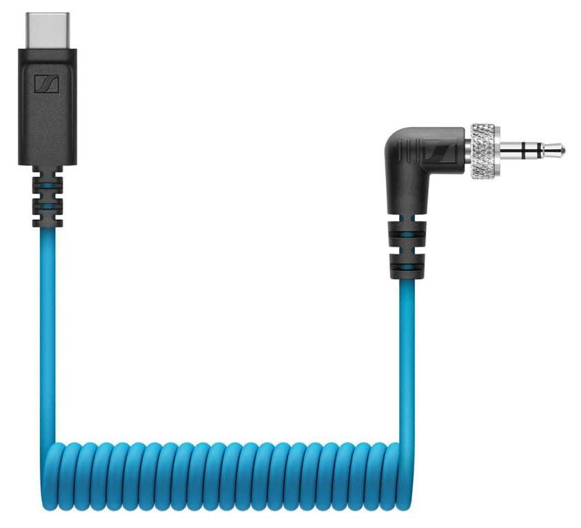 Kabelmulticores - Sennheiser CL 35 USB C Wendelkabel - Onlineshop Musikhaus Kirstein