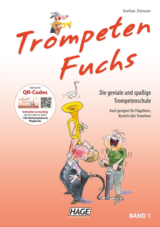 Trompetelernen - Der Trompeten Fuchs Band 1 - Onlineshop Musikhaus Kirstein